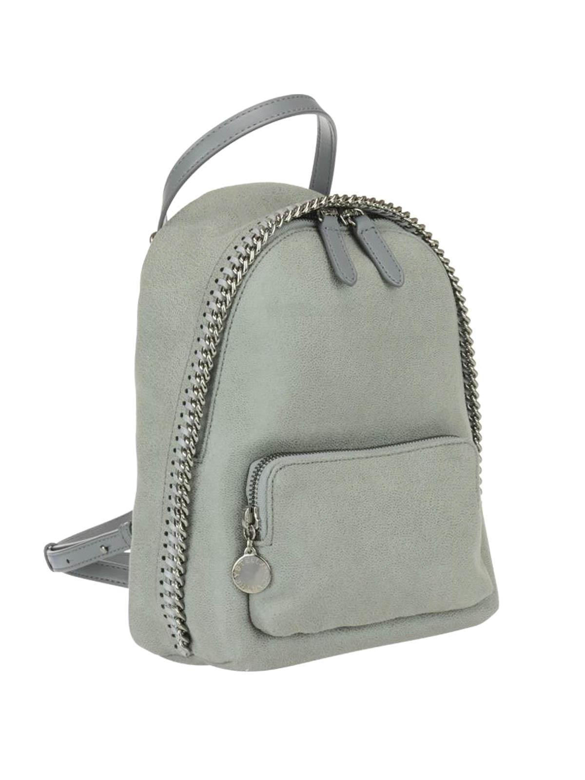 9da87dc18d STELLA McCARTNEY  backpacks online - Falabella light grey mini backpack