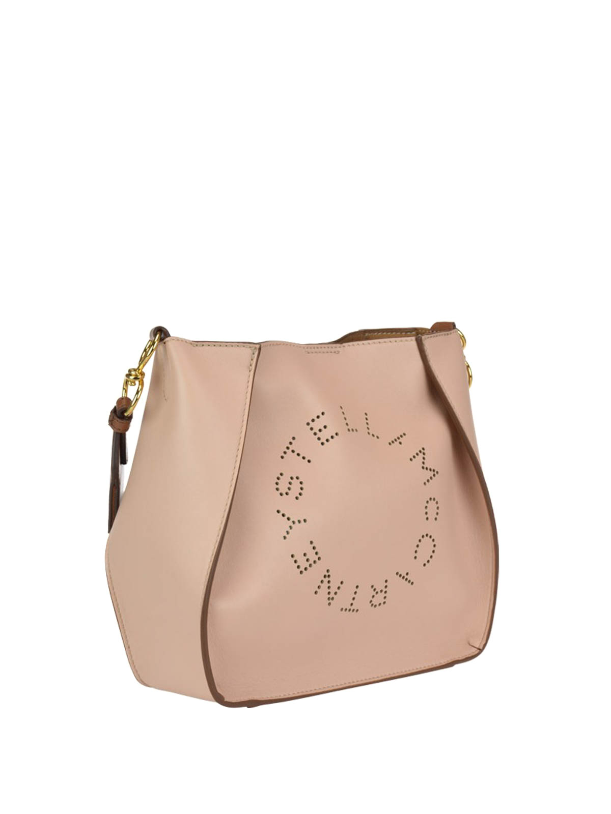 89dafdf14f6c STELLA McCARTNEY  cross body bags online - Perforated logo faux leather bag
