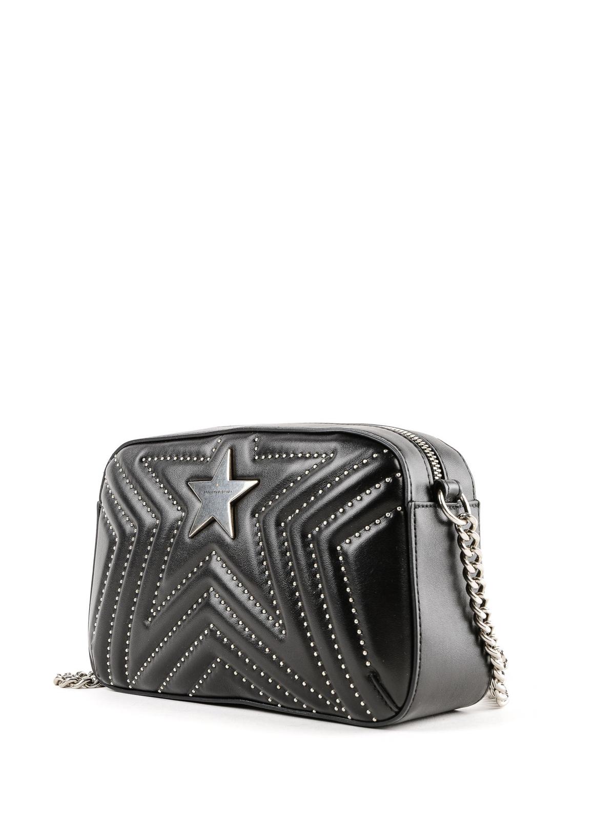 127abd1e5998 STELLA McCARTNEY  cross body bags online - Stella Star black matelassé small  camera bag