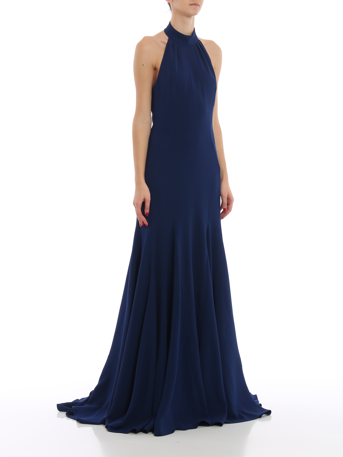 7c8be9840df0a STELLA McCARTNEY: evening dresses online - Halter neck floor length gown