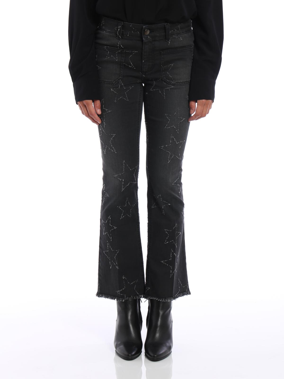 Stelle Zampa Mccartney Stella Crop Con A Jeans 7gYyvb6f