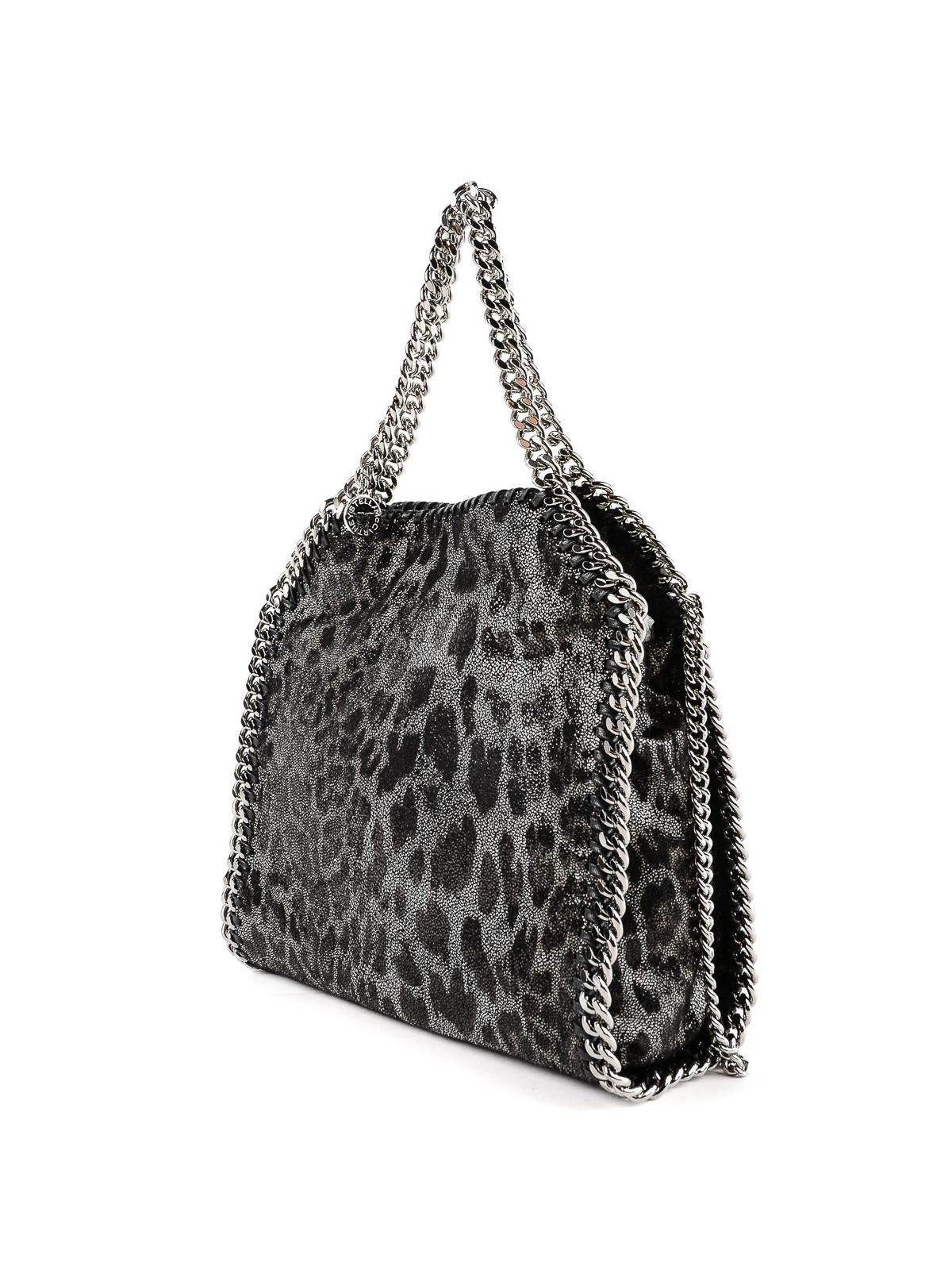 4f5f693ddbf2 STELLA McCARTNEY: totes bags online - Falabella Mini animal print velvet  tote