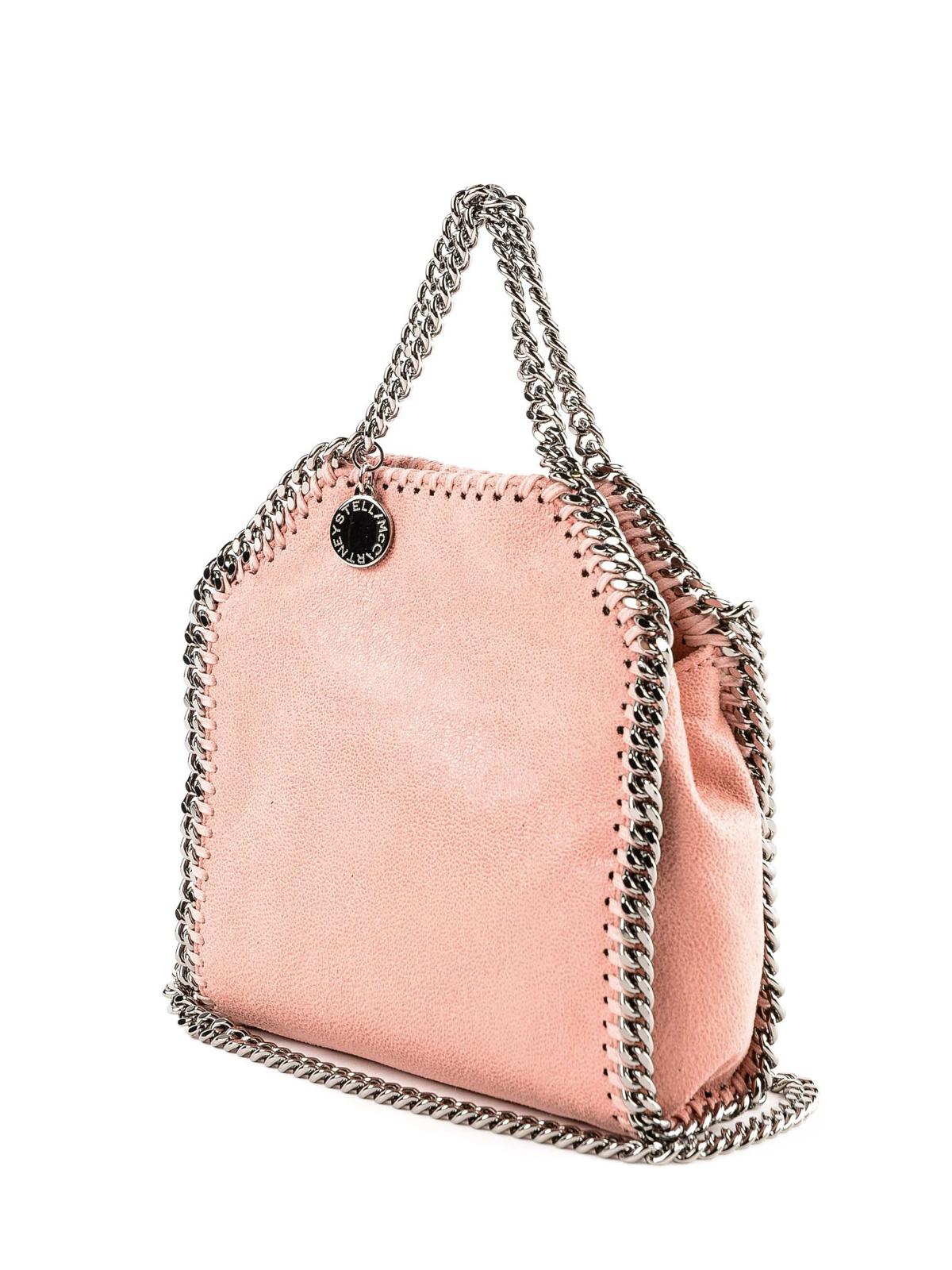 49ef411216114 STELLA McCARTNEY  totes bags online - Pink Tiny Falabella bag