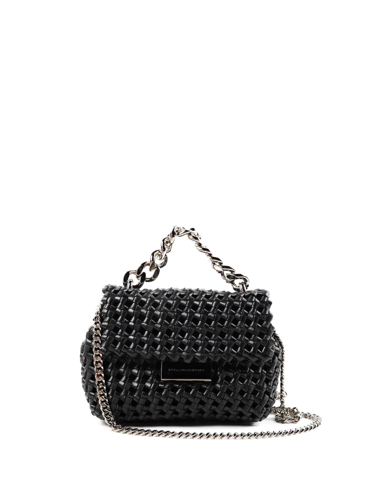 Stella Mccartney - Woven Becks mini bag - shoulder bags - 423207 ... 21b816568f