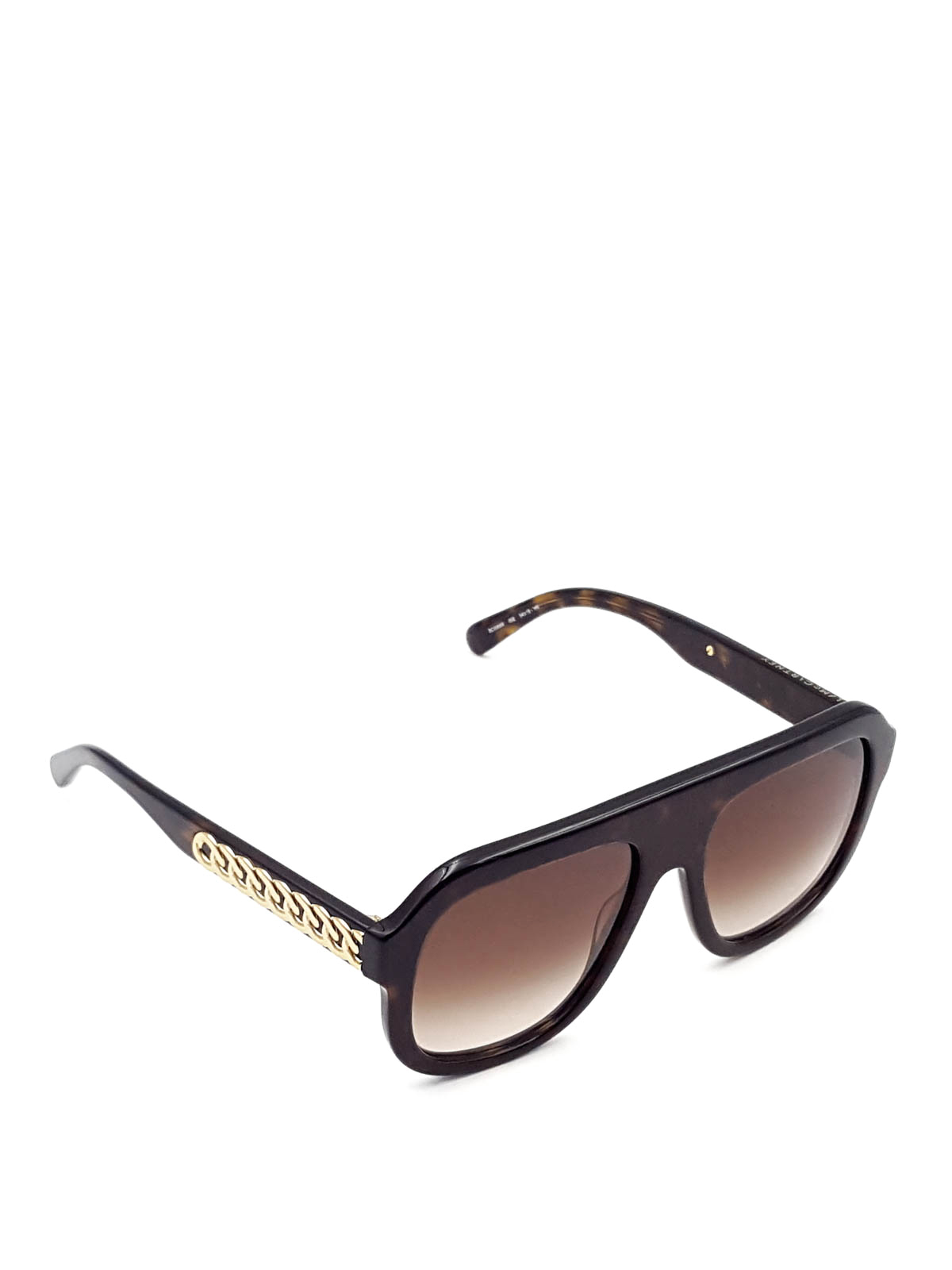 f82789a8c5a32 Stella Mccartney - Golden chains sunglasses - sunglasses - SC0065S2