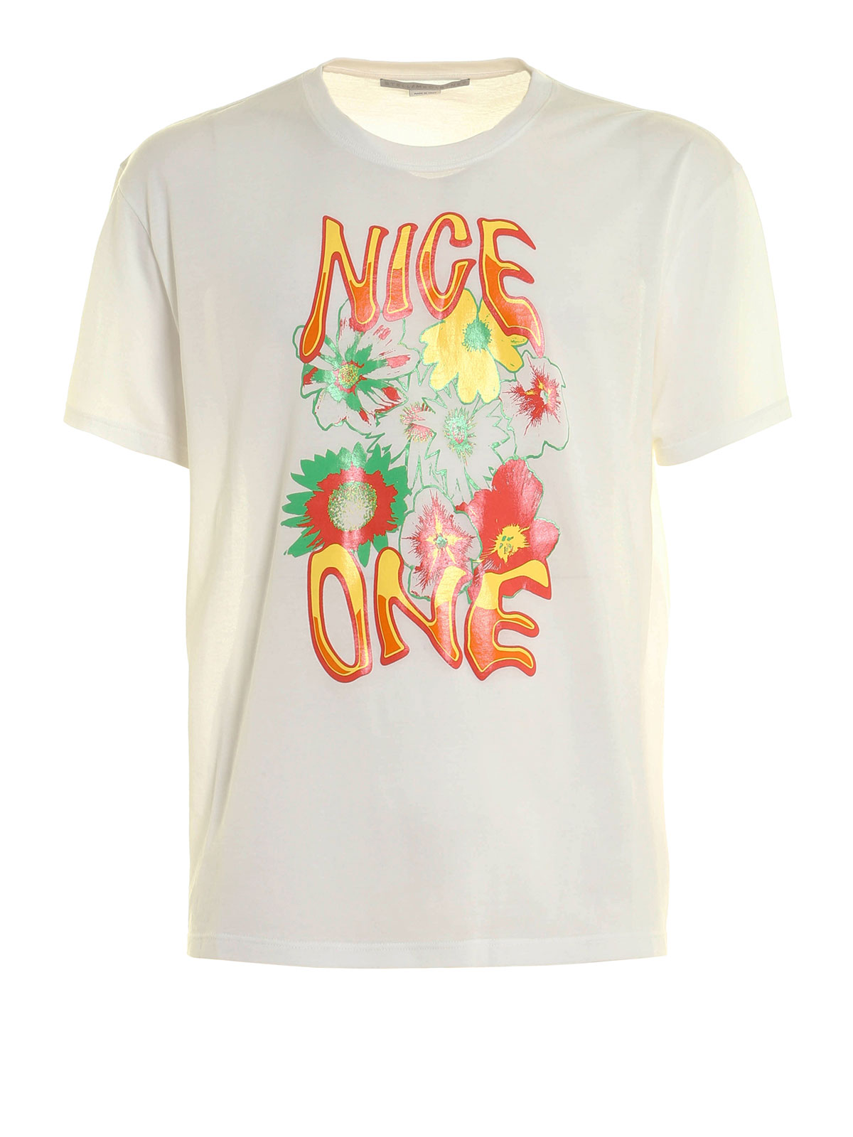 Nice one printed t shirt by stella mccartney t shirts for Stella mccartney t shirt