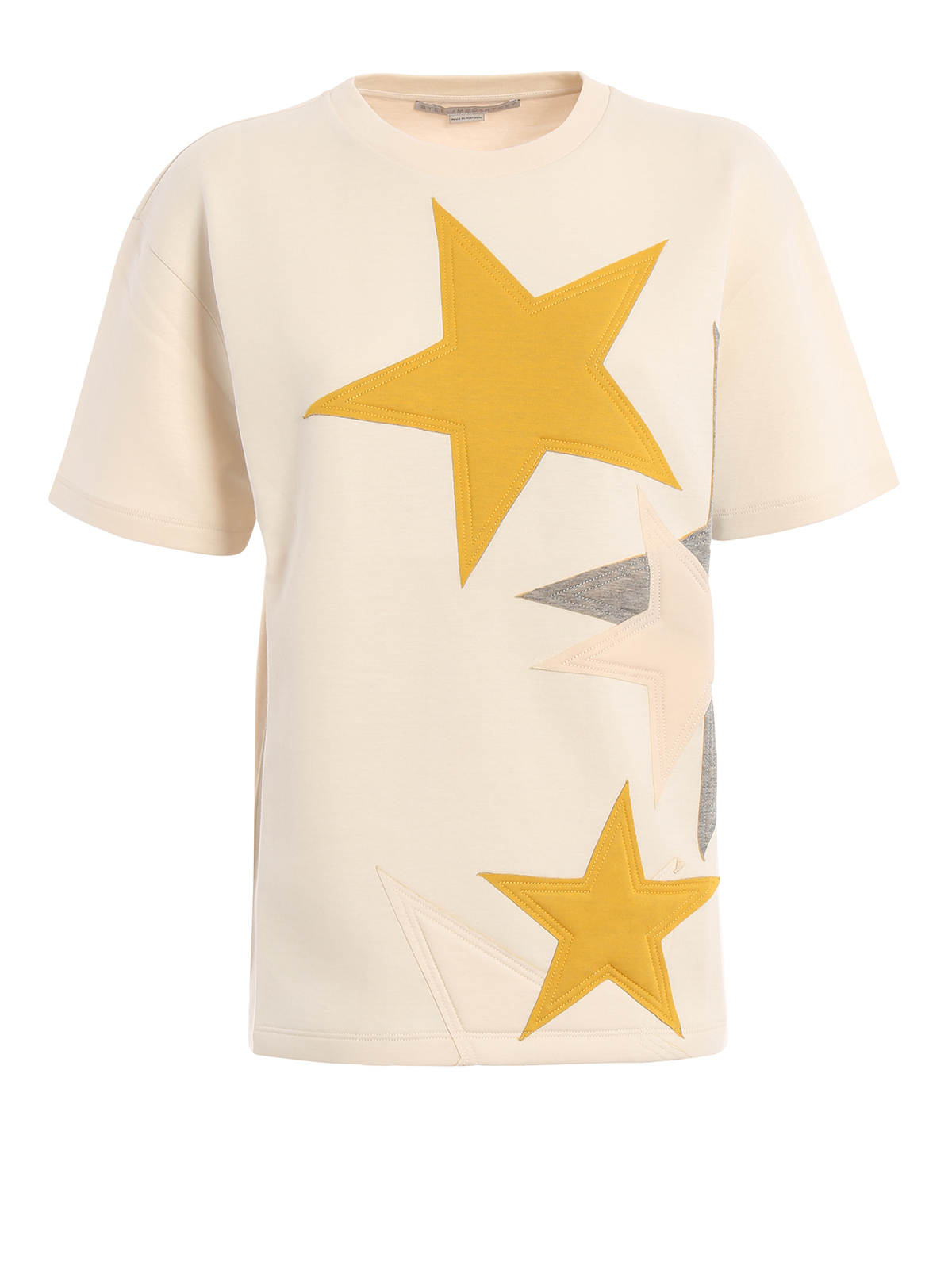Star patches t shirt by stella mccartney t shirts ikrix for Stella mccartney t shirt