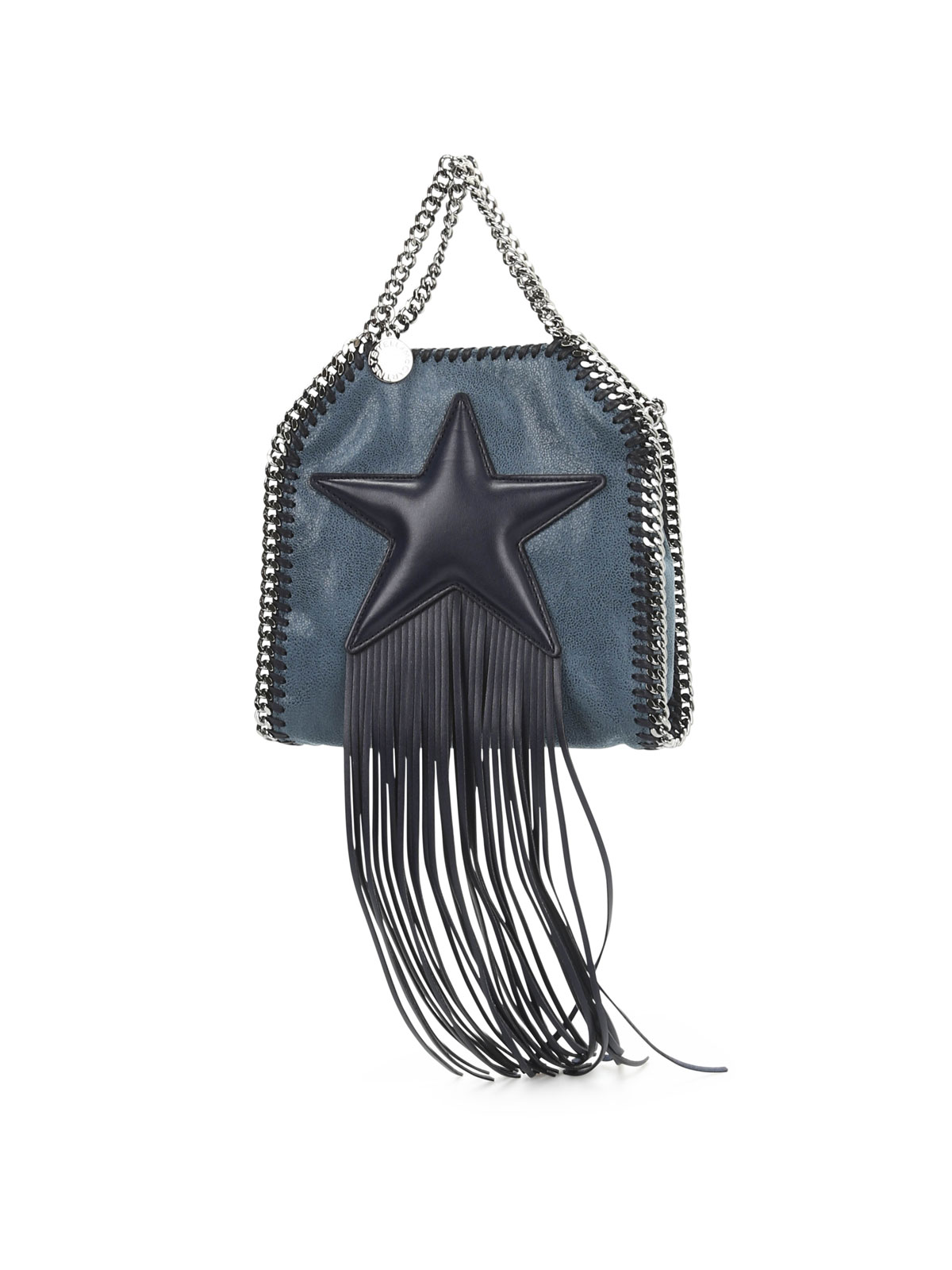 Stella Mccartney - Falabella tiny fringed star tote - totes bags ... 7f40d76c07