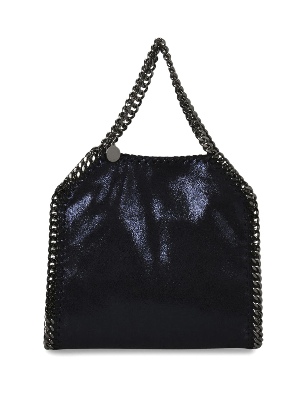 fold over falabella mini bag by stella mccartney totes bags ikrix. Black Bedroom Furniture Sets. Home Design Ideas