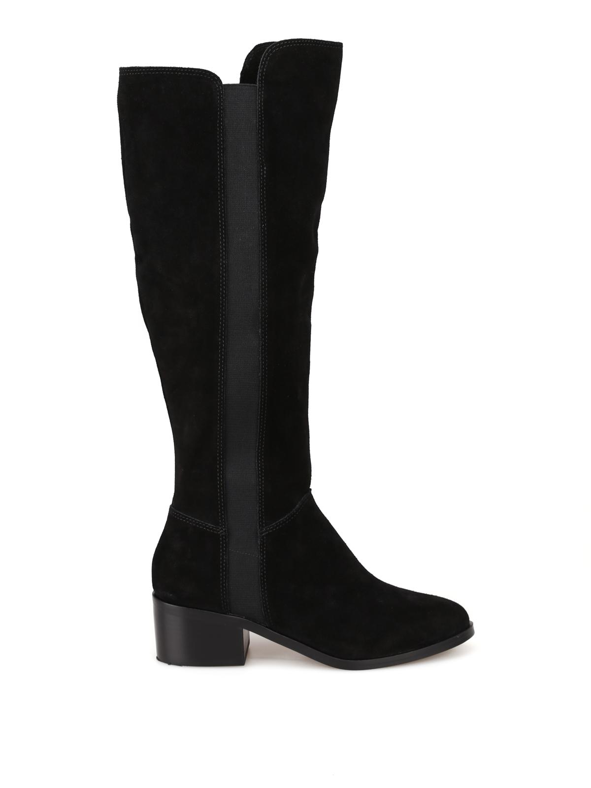 956ebaa1c48 Steve Madden - Giselle boots - boots - GISELLEBLACKSUEDE | iKRIX.com