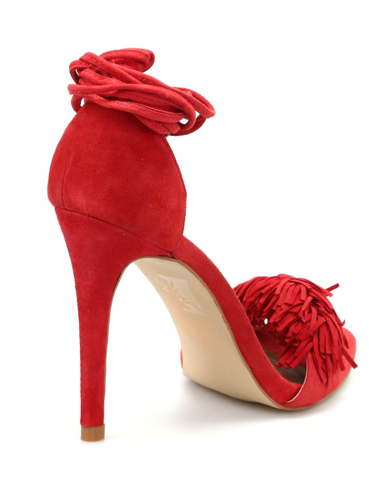 6666cccc20d Steve Madden - Sassey sandals - sandals - SASSEY RED