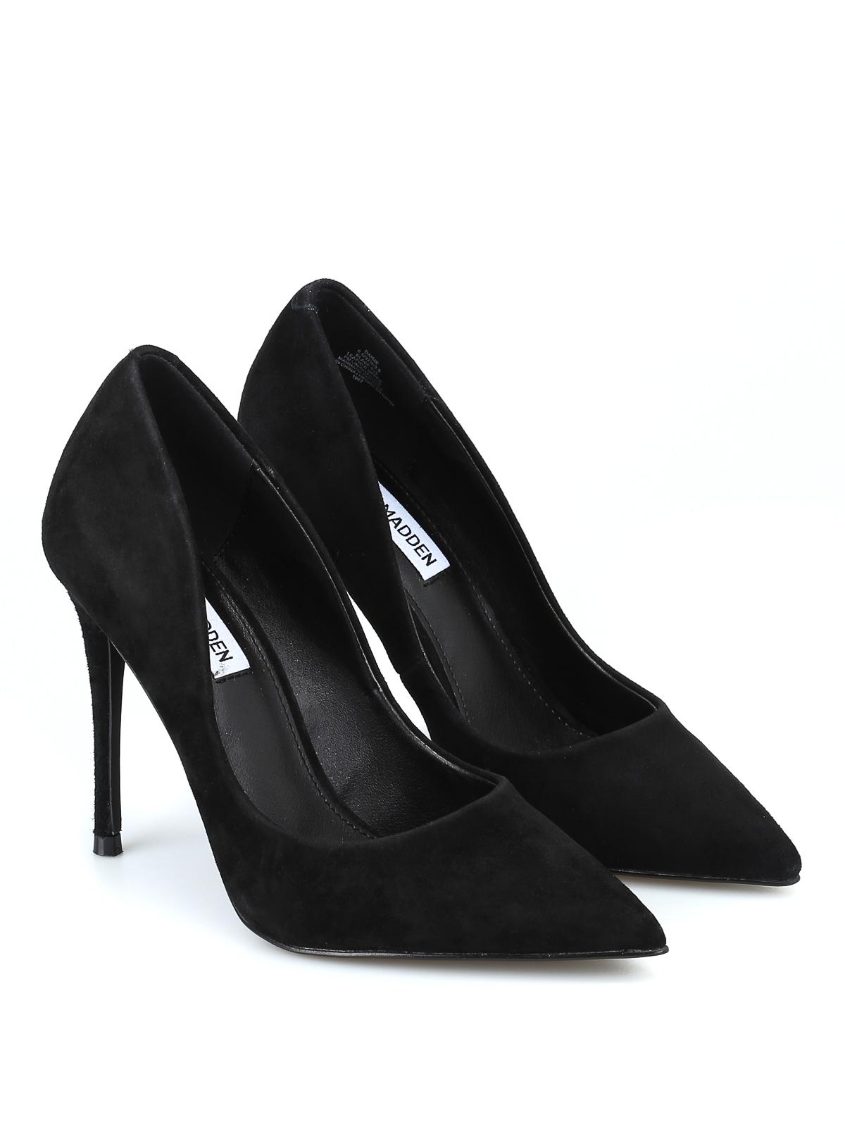 60f70f5562a Steve Madden - Daisie black suede pumps - court shoes - DAISIESUEDEBLACK