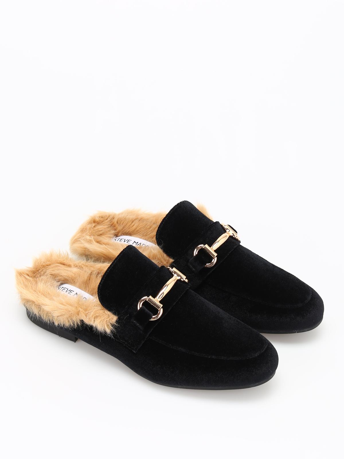 8389b6e1e38 Steve Madden  Loafers   Slippers online - Jill faux fur lined velvet  slippers