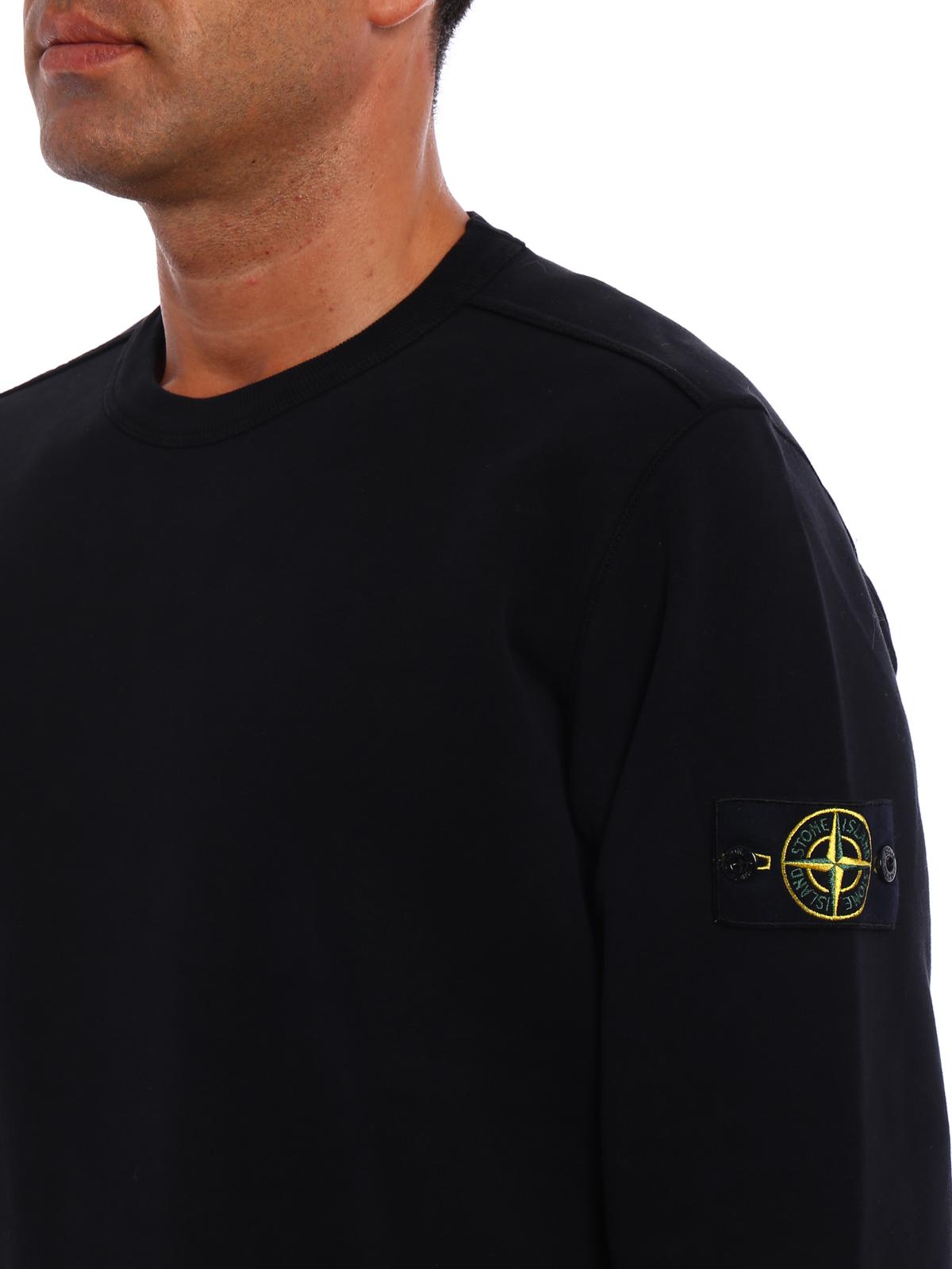 an vorderster Front der Zeit gut aussehen Schuhe verkaufen 100% authentifiziert Stone Island - Sweatshirt - Schwarz - Sweatshirts und ...