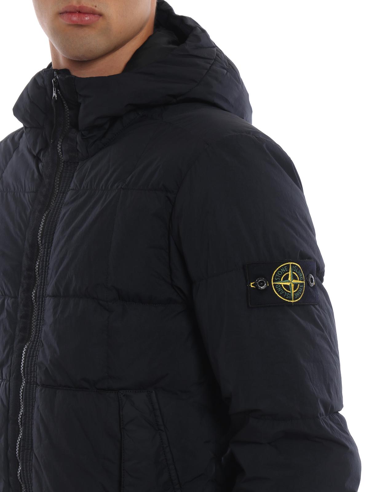 e75aba6ec Stone Island - Garment Dyed Crinkle Reps Ny Down blue jacket ...
