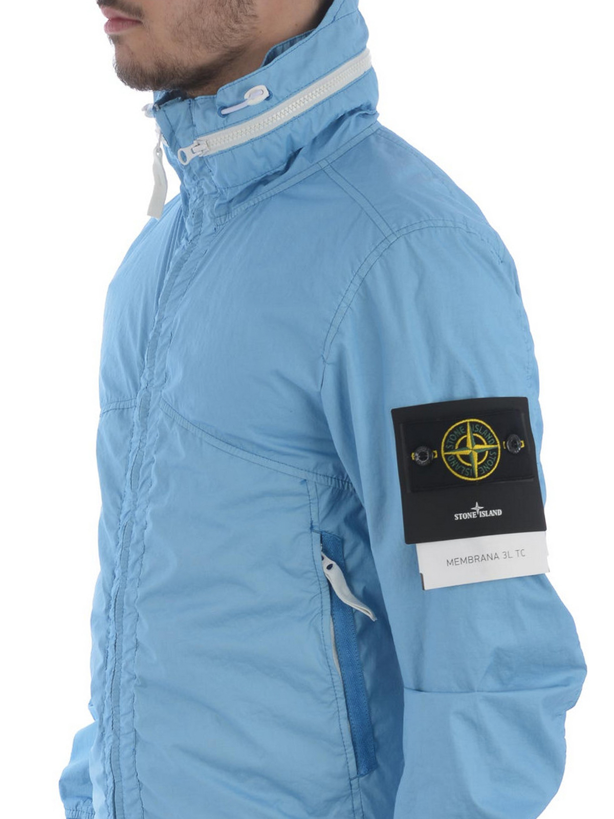 Stone Island Ltc Membrana Light Blue