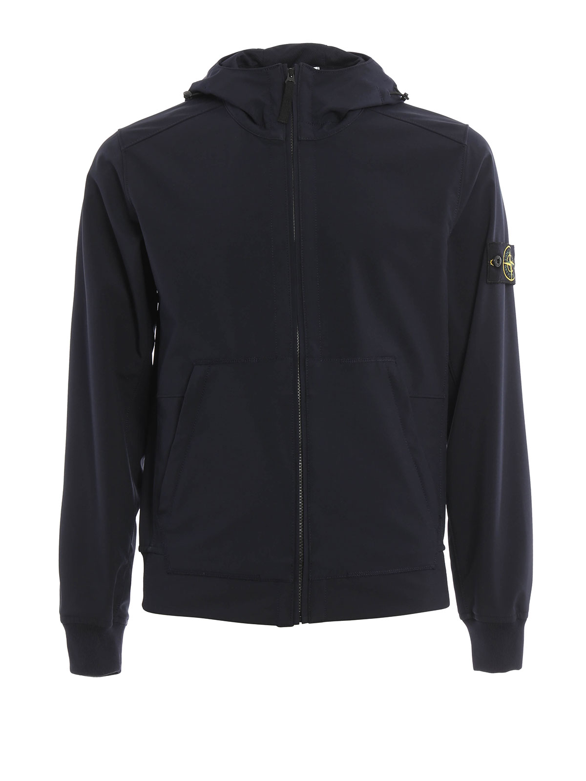Stone island water and wind resistant jacket casual for Wind resistant material