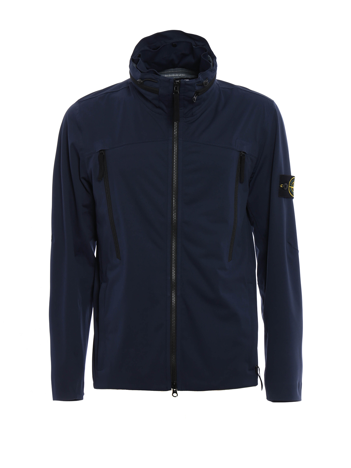 Water and wind resistant jacket by stone island casual for Wind resistant material