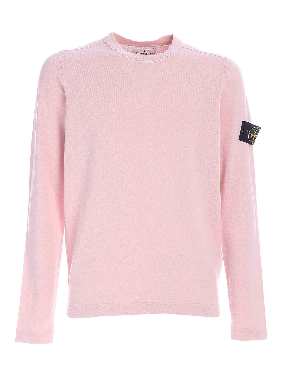 Stone Island Cottons COTTON SWEATER IN PINK
