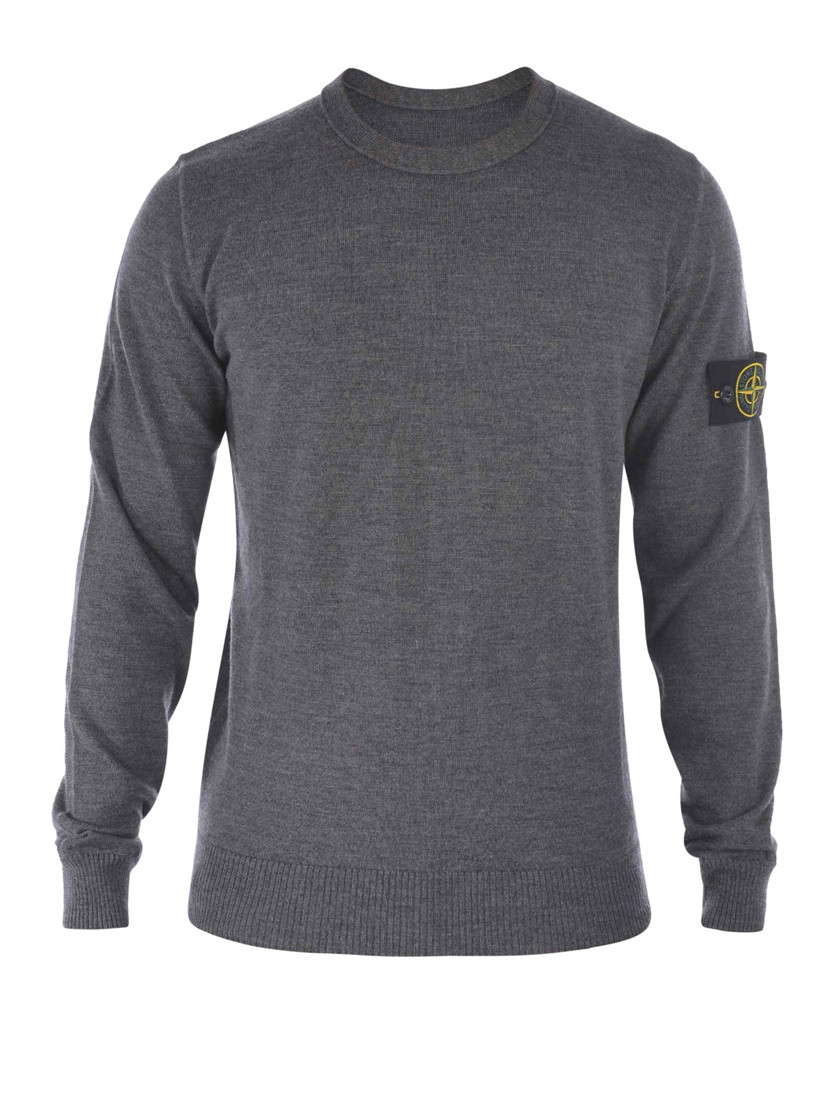 crew neck pullover by stone island crew necks shop online at 50bc4 v0067. Black Bedroom Furniture Sets. Home Design Ideas