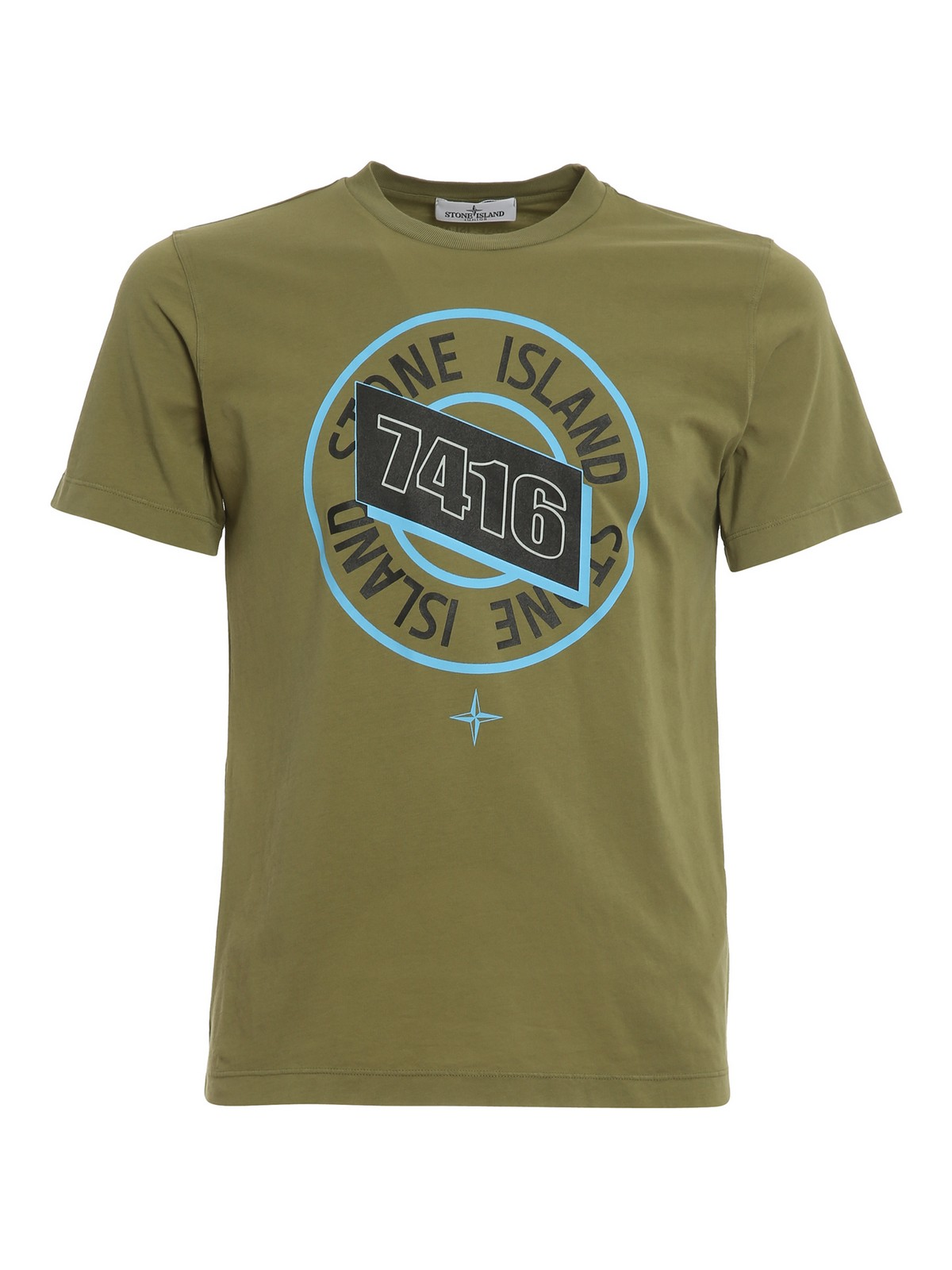 Stone Island Junior T-shirts LOGO JERSEY T-SHIRT