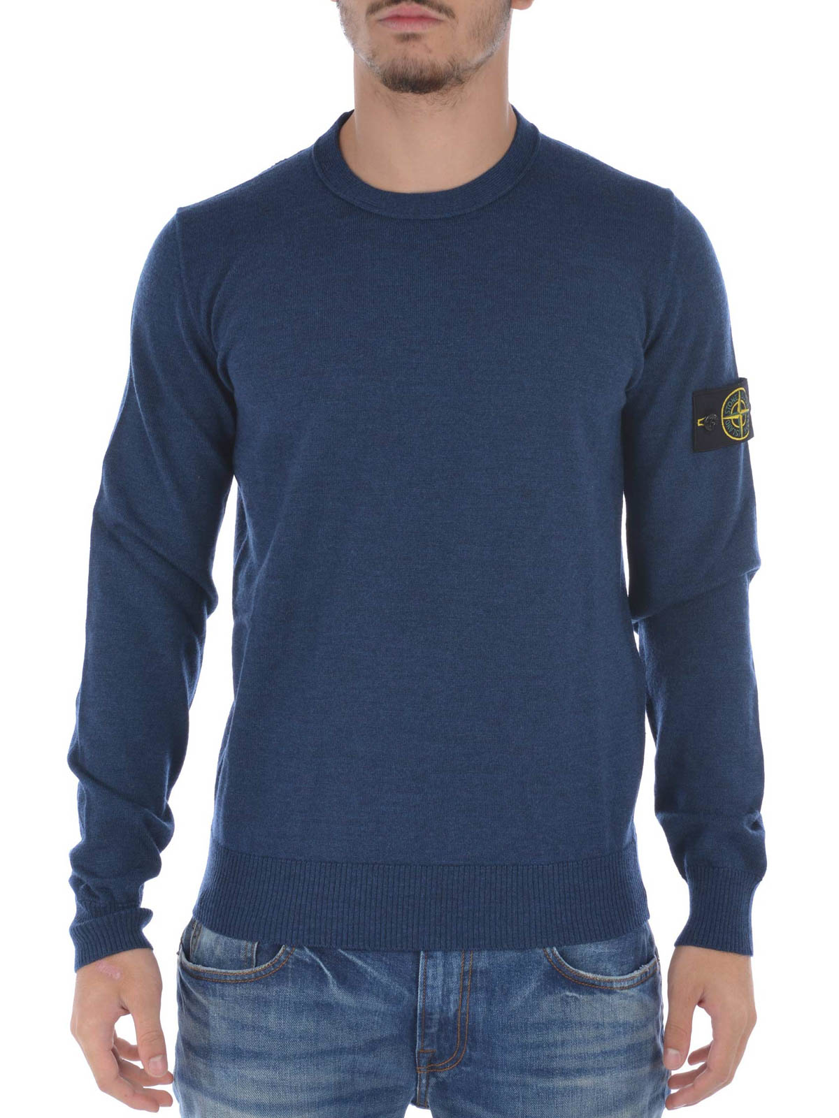 stone island crew neck pullover crew necks 50bc4 v0024. Black Bedroom Furniture Sets. Home Design Ideas