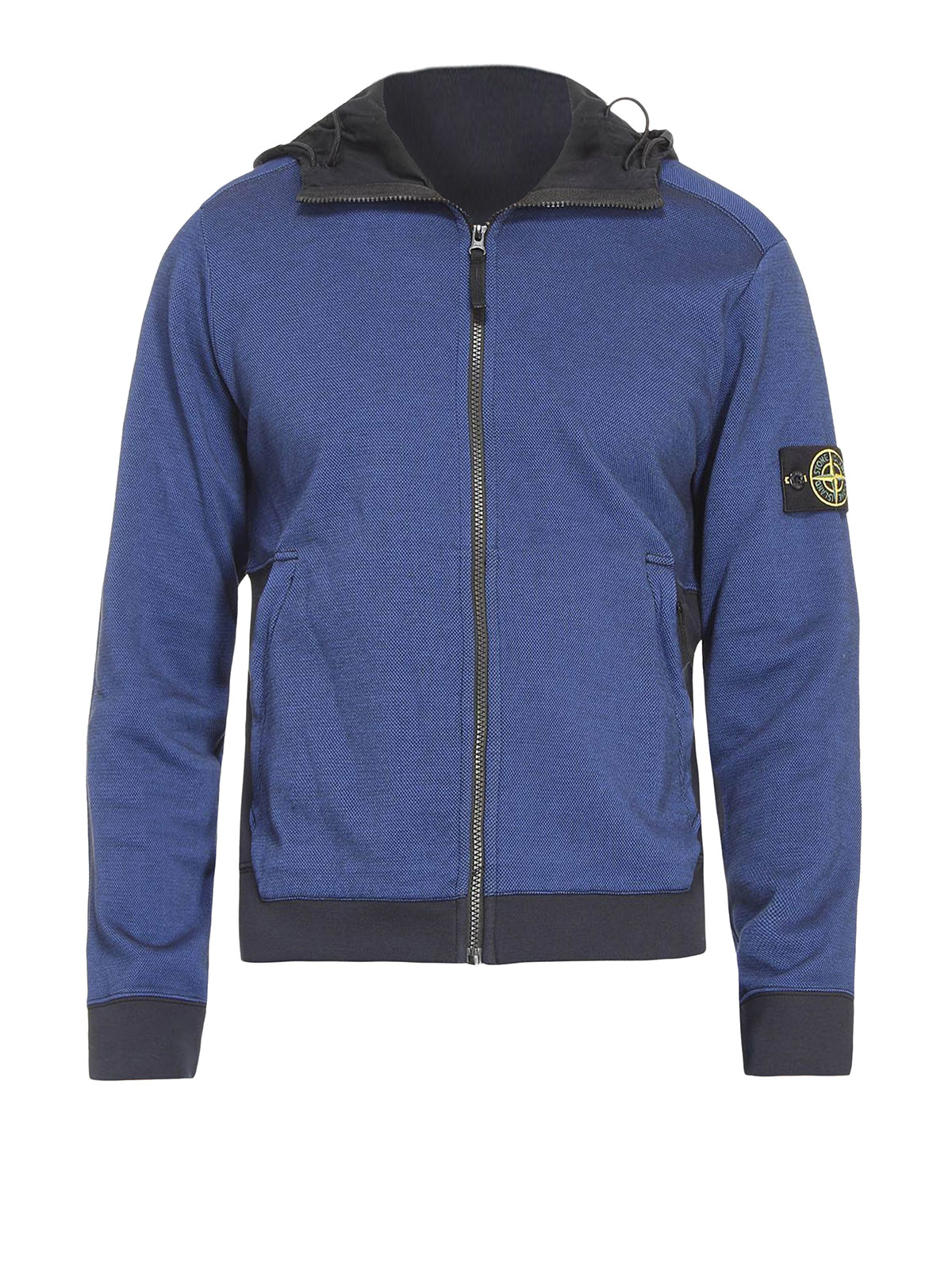 two tone sweatshirt by stone island sweatshirts. Black Bedroom Furniture Sets. Home Design Ideas