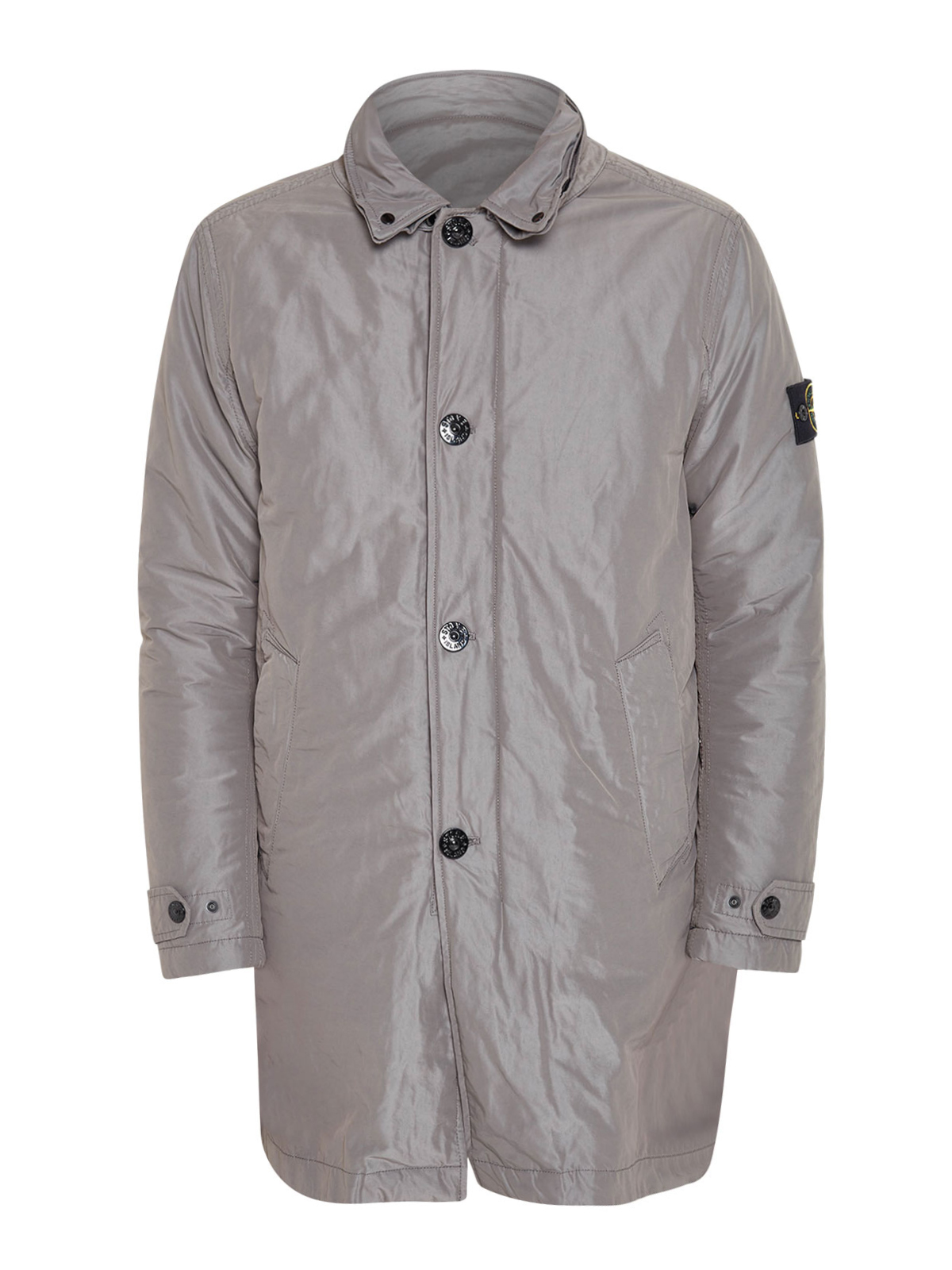 slightly padded trench coat by stone island trench coats ikrix. Black Bedroom Furniture Sets. Home Design Ideas