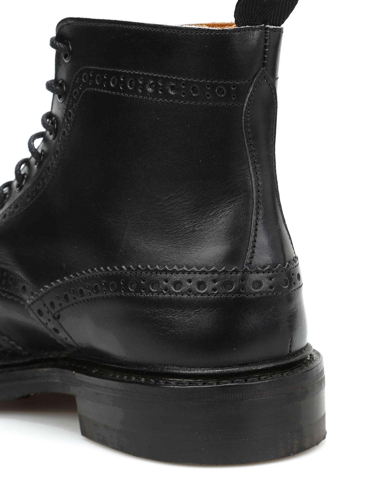 ee18df1ba3e86 Tricker's - Stow Country brogued ankle boots - ankle boots - TS STOW ...