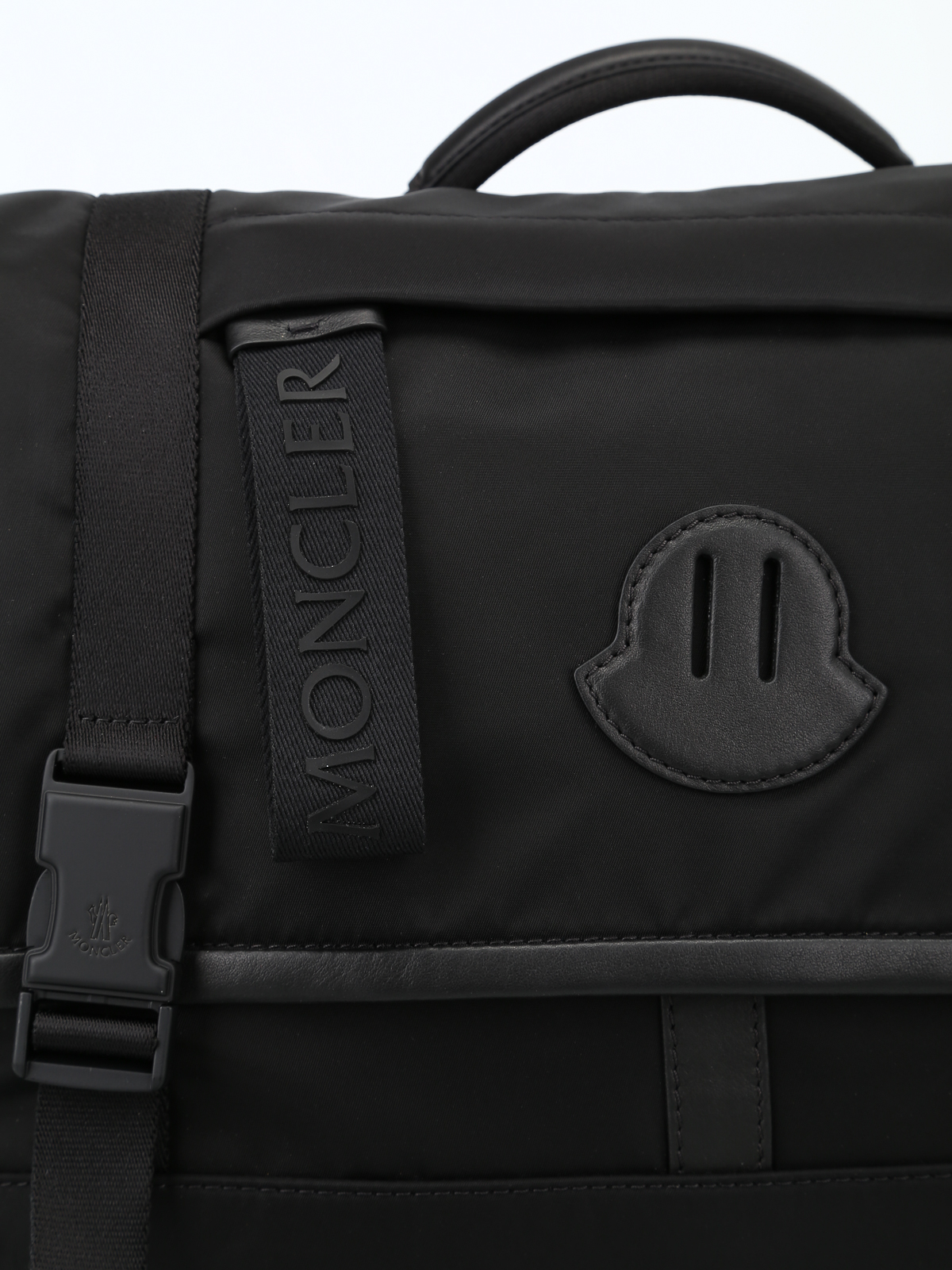 finest selection 66e50 7cd44 Moncler - Stratus black nylon bag - laptop bags & briefcases ...