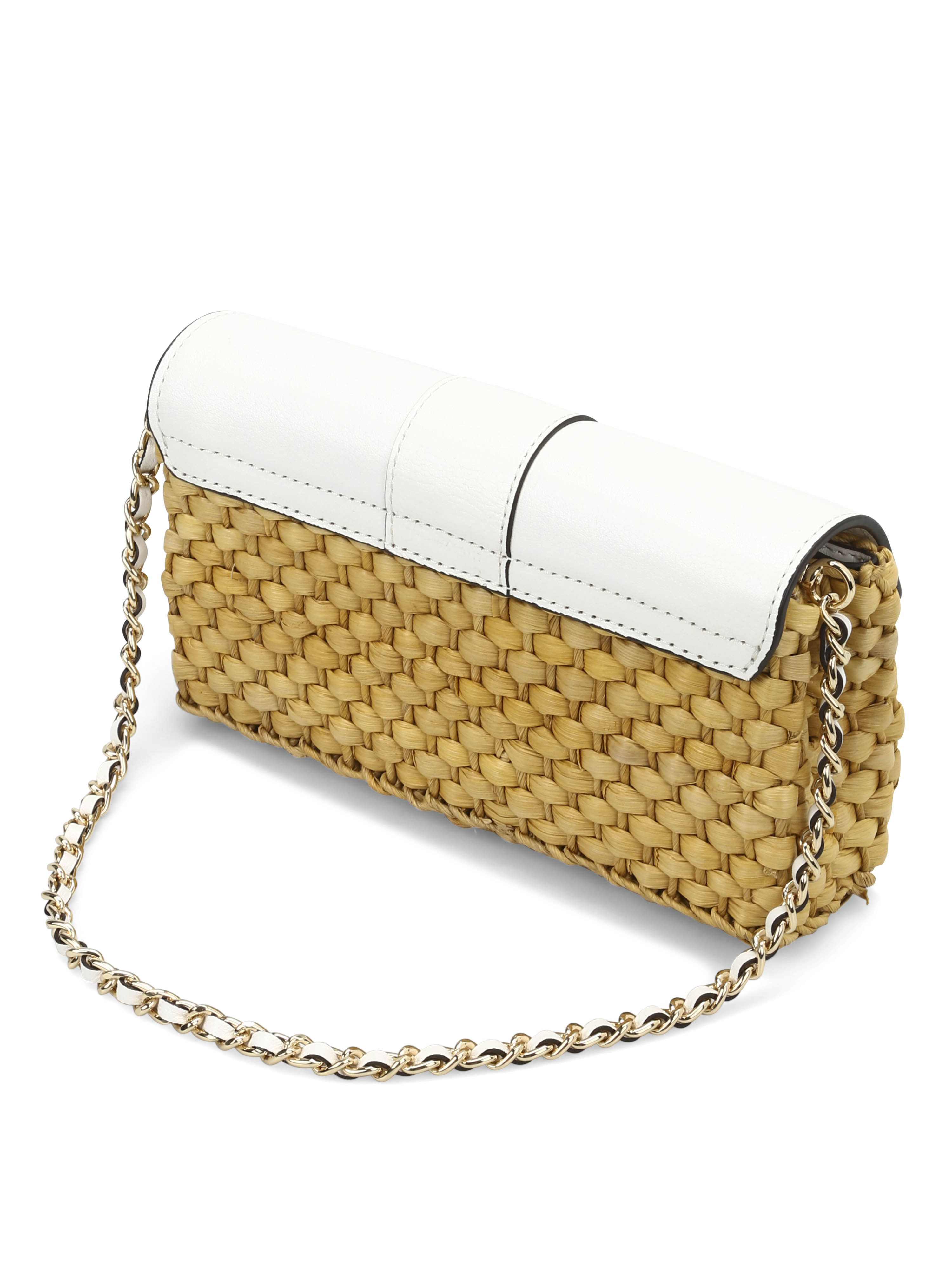 4e2343bcafa2b Michael kors straw gabriella clutch clutches optic jpg 3000x4000 Michael  kors straw clutch
