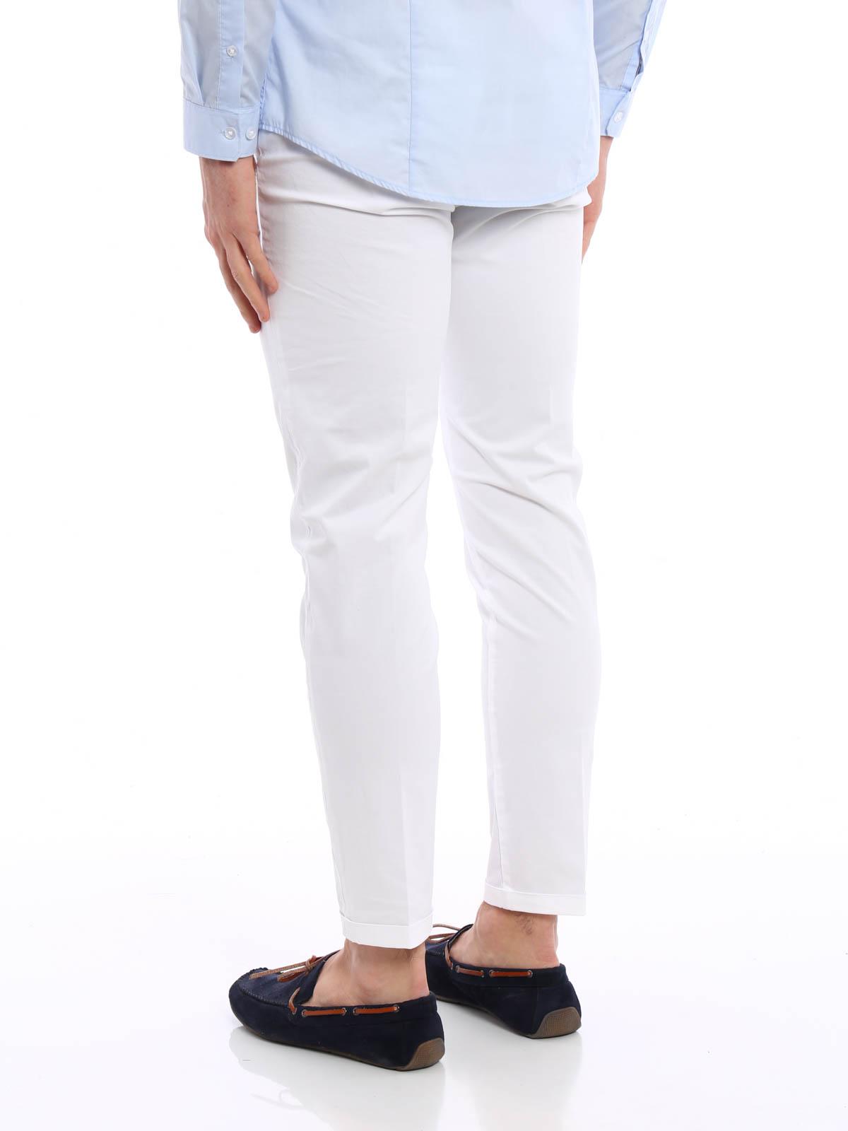 dc57335e2fe4 Fay - Pantaloni capri in cotone stretch - capri - NTM8634187T GRB001