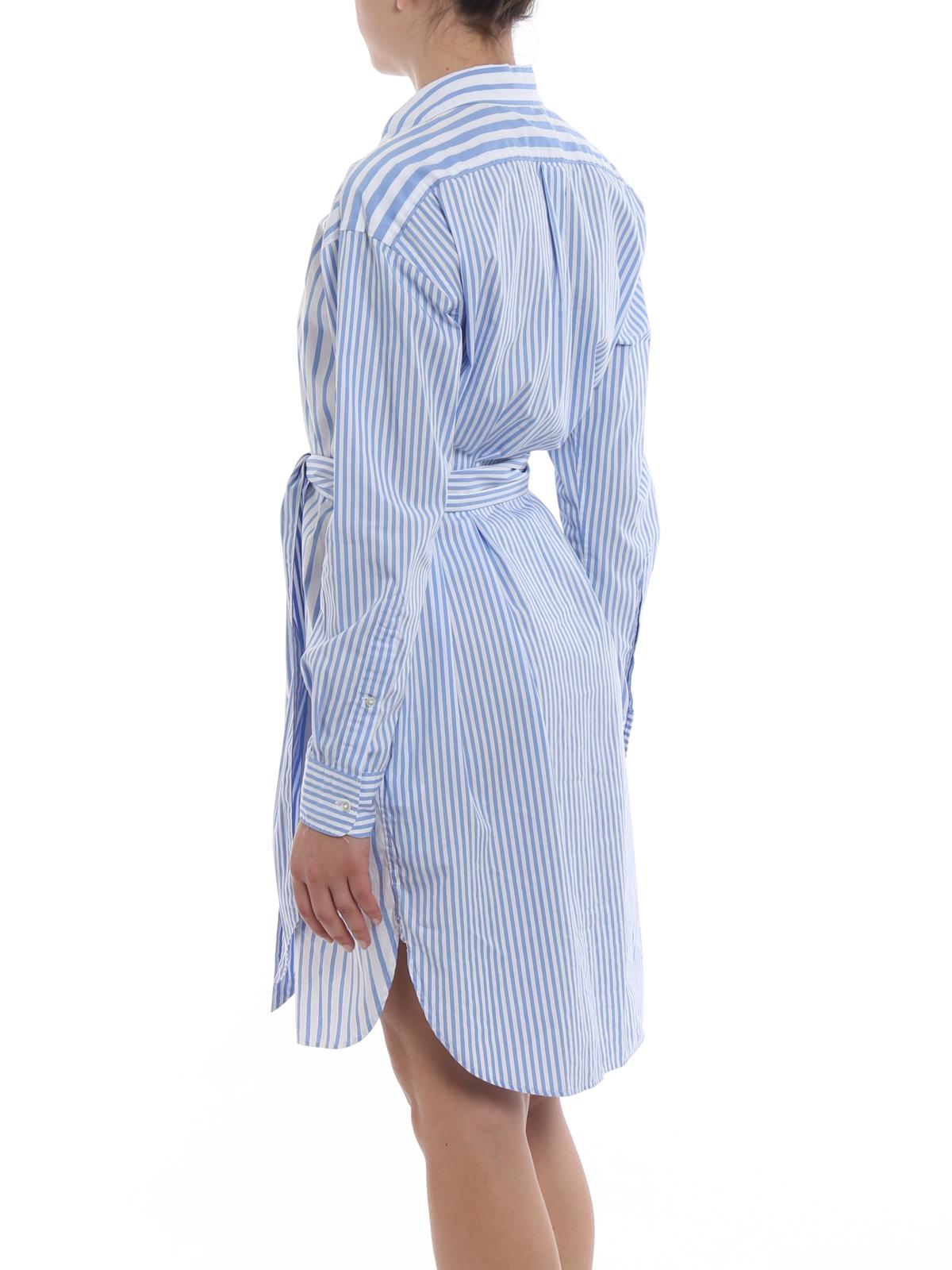 Bleu Polo Courtes Lauren Courte Clair Robes Ralph Robe hdBosrQCxt