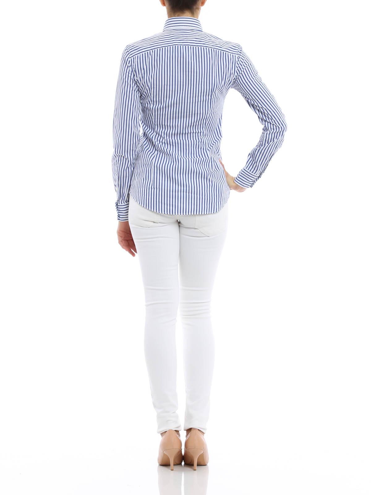 camicia a righe polo ralph lauren camicie ikrix. Black Bedroom Furniture Sets. Home Design Ideas