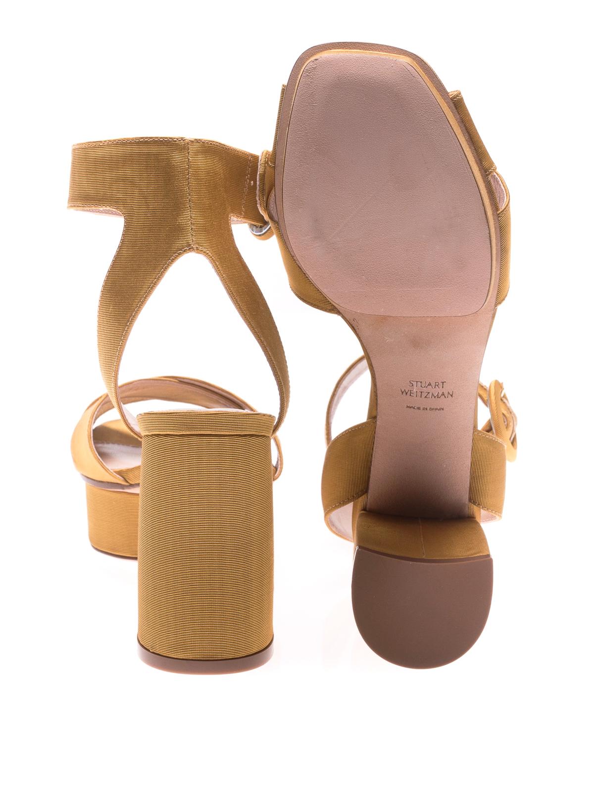 24e7b391a49d Stuart Weitzman - Carmina velvet platform sandals - sandals ...