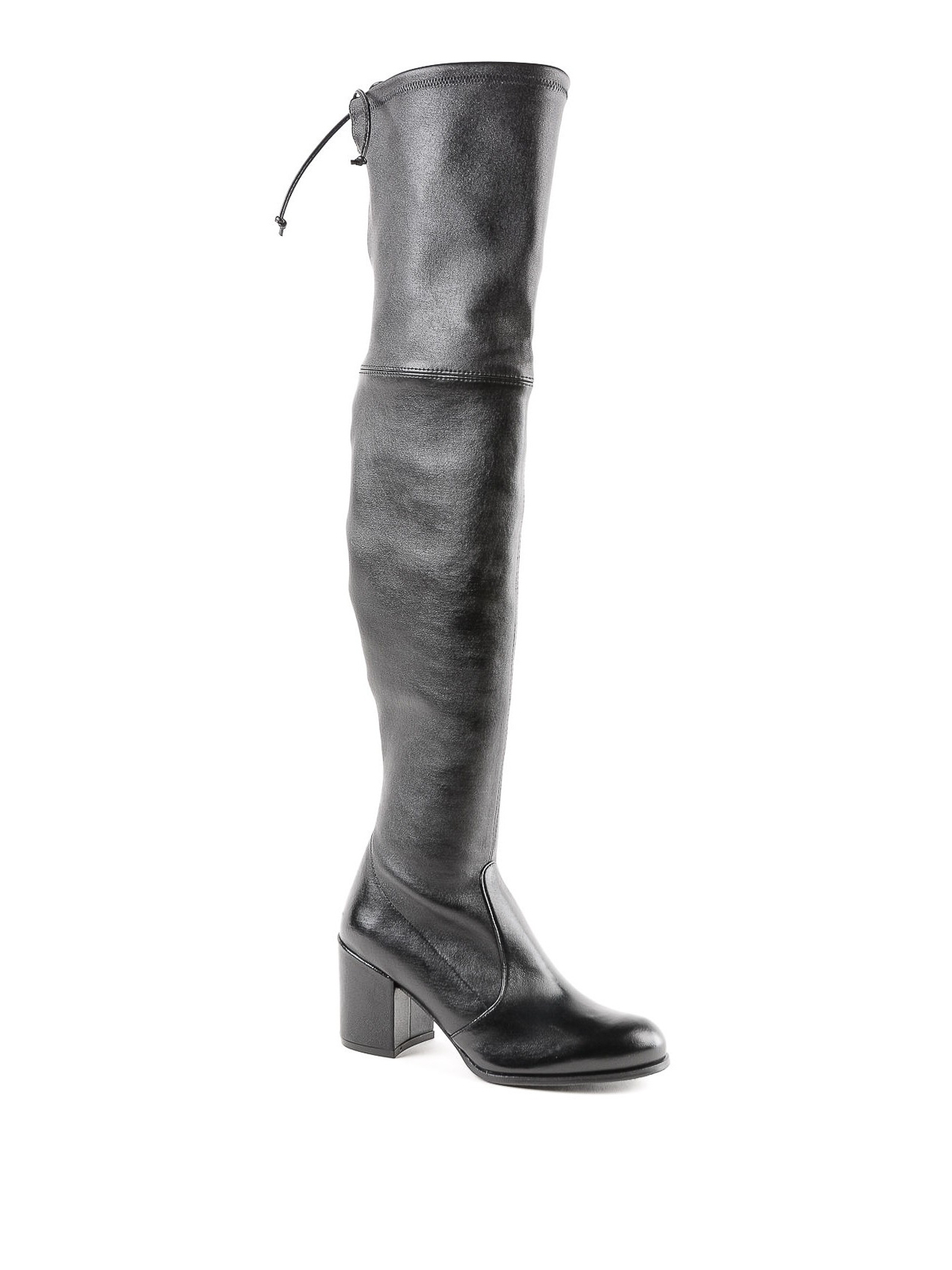 64d8a976715 Stuart Weitzman  boots online - Tieland stretch nappa over the knee boots