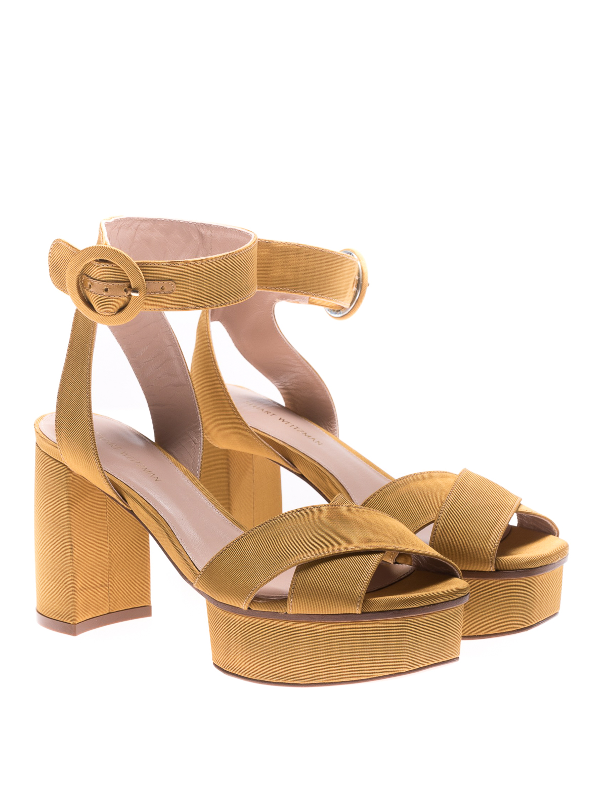 9d1123f210b6 Stuart Weitzman  sandals online - Carmina velvet platform sandals