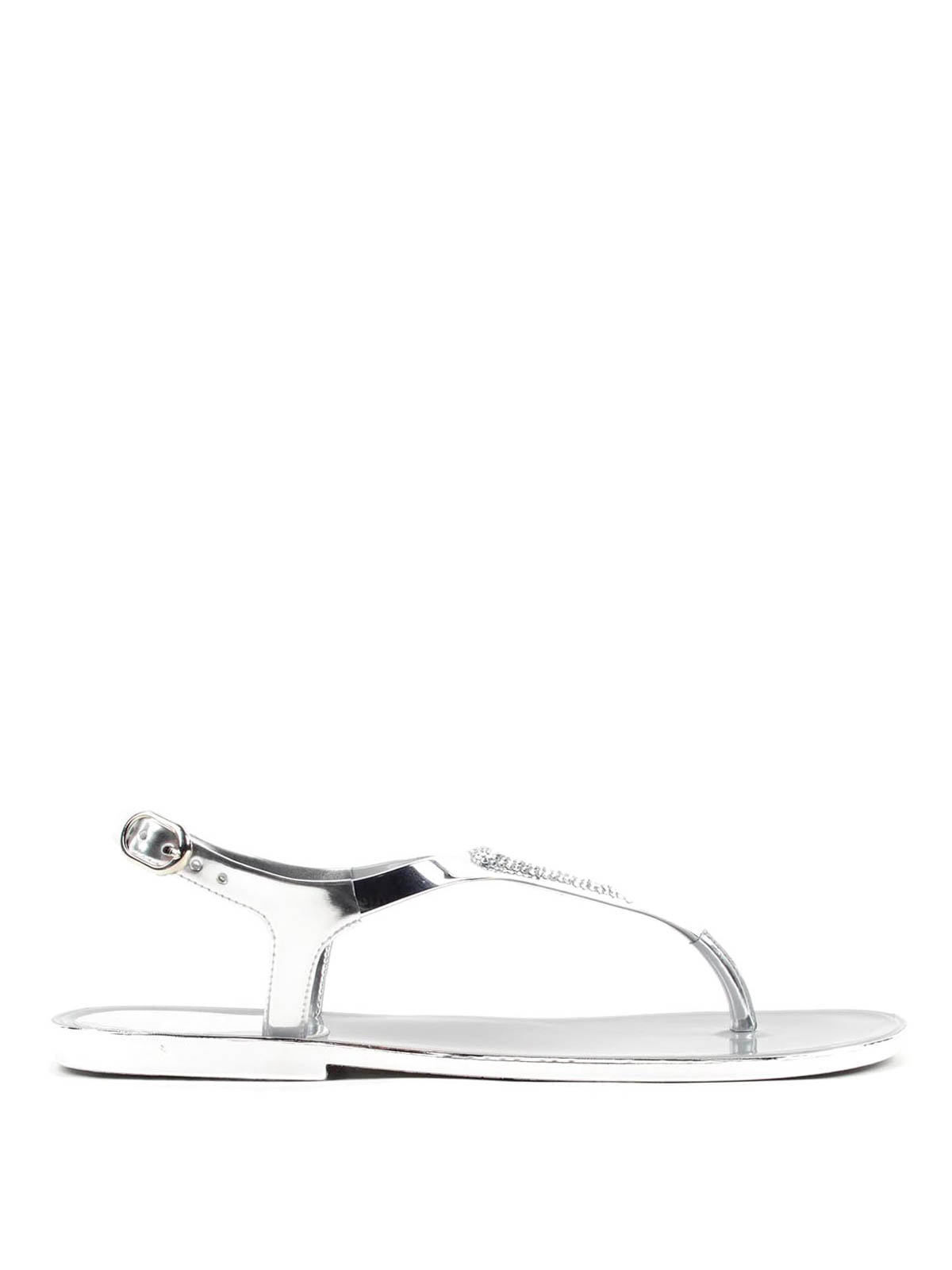 cd2c77bd0d158 Stuart Weitzman  sandals online - Thong sandals with rhinestones