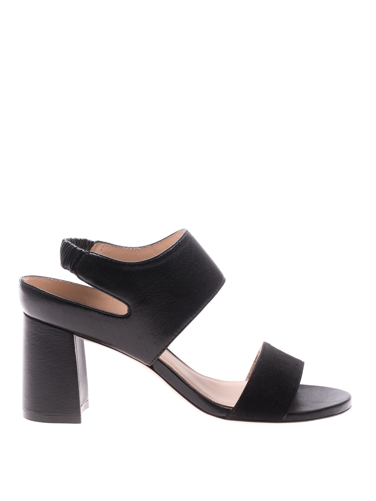 2fef4ddefe0 Stuart Weitzman - Erica suede and leather sandals - sandals - XL14739