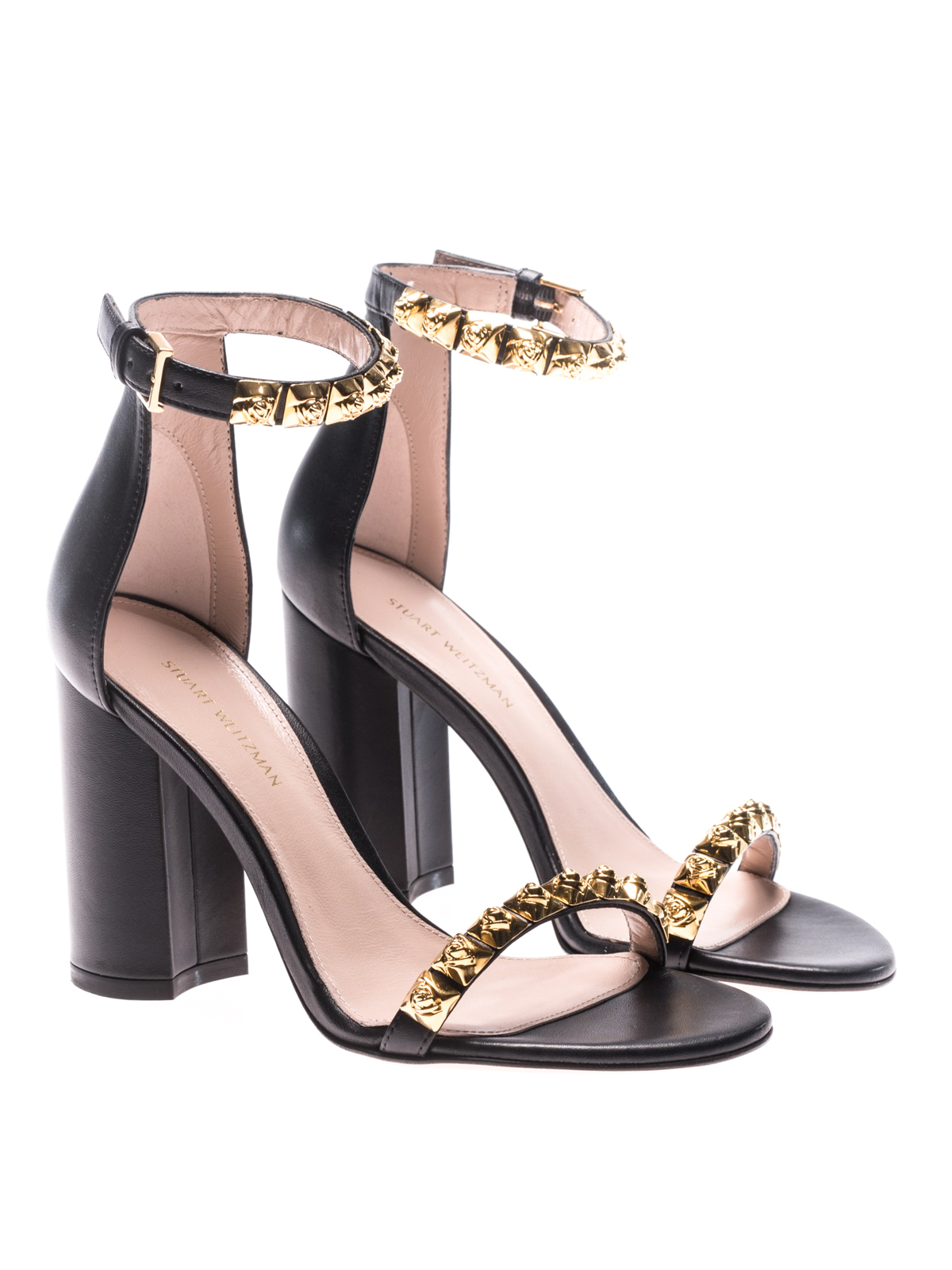 Stuart Weitzman Designer Shoes, Leather Rosemarie Sandals