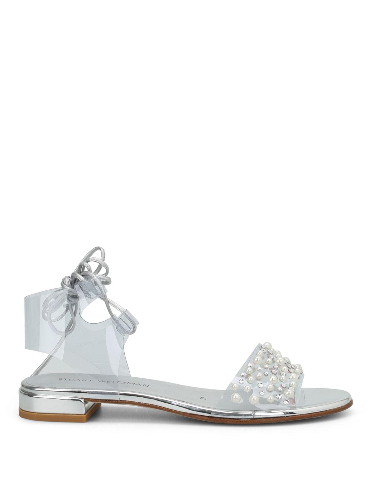 a315a2367dcfc Stuart Weitzman - Solarium embellished sandals - sandals - VL76239