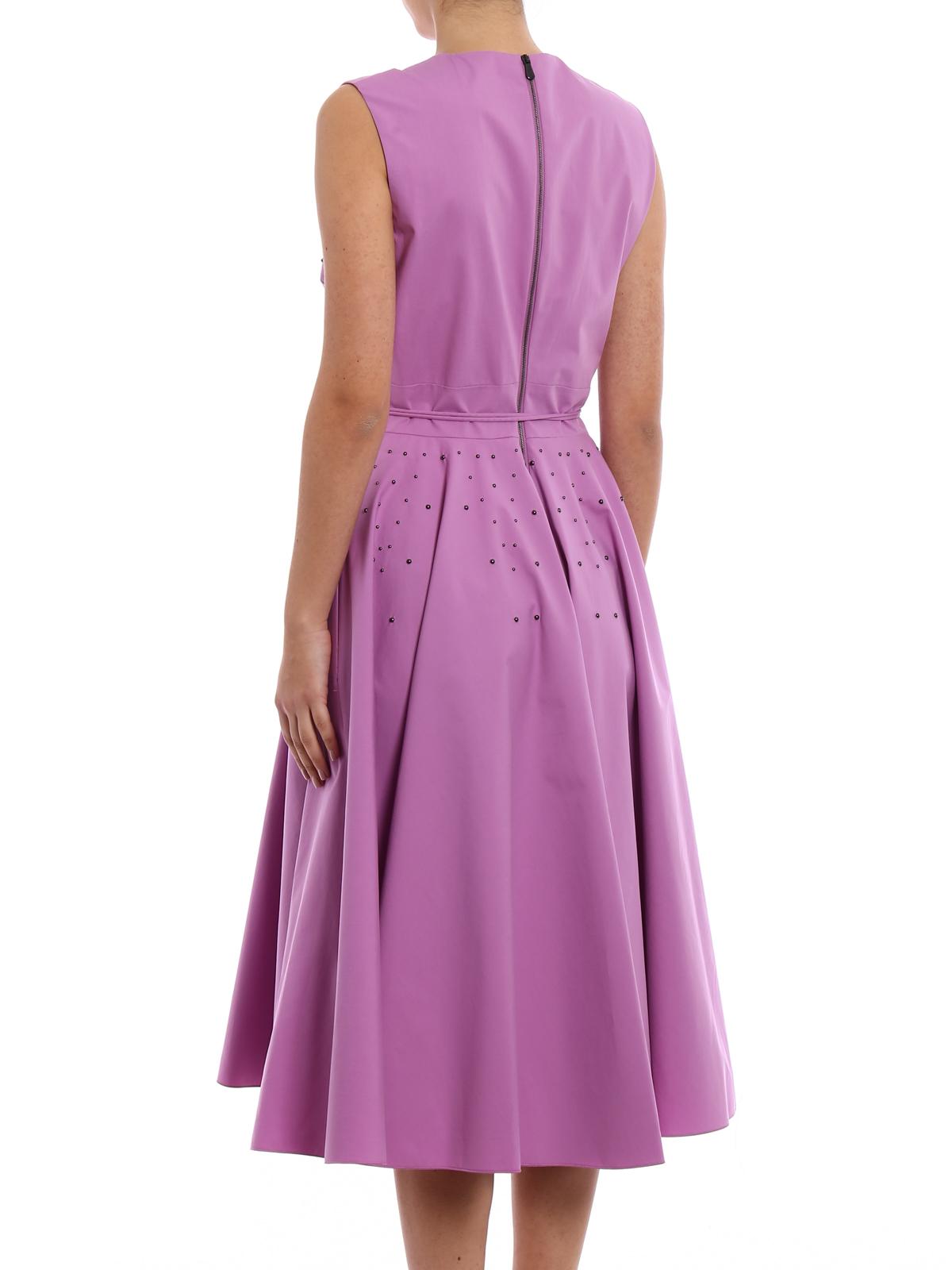 Vestido De Cóctel - Púrpura Claro de Bottega Veneta - Vestidos de ...