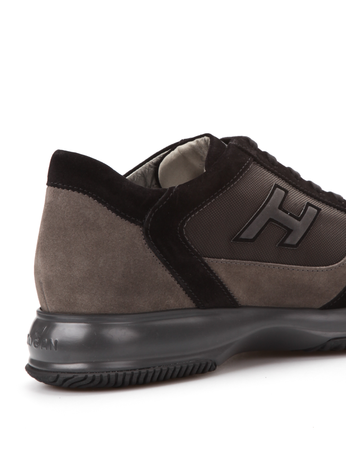 Hogan - Suede and canvas Interactive - trainers