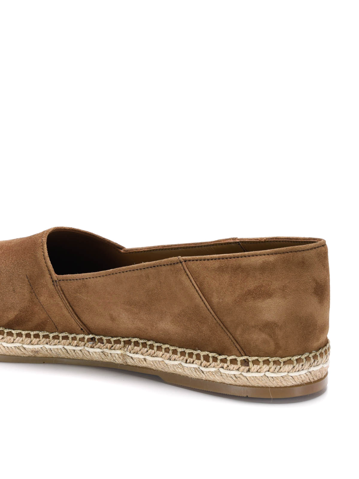 search for official classic shoes favorable price Prada - Suede espadrilles - espadrilles - 2DE092 CAMMELLO ...