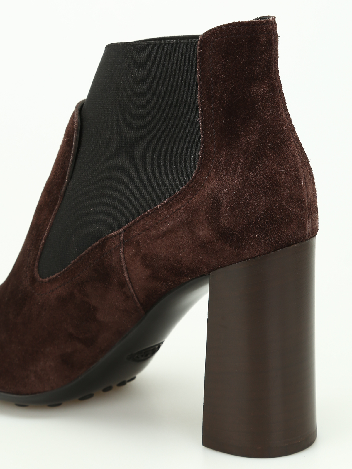 Ankle Xxw0zl0q780e9q0531 On Tod's Slip Suede Boots qwtqRA0