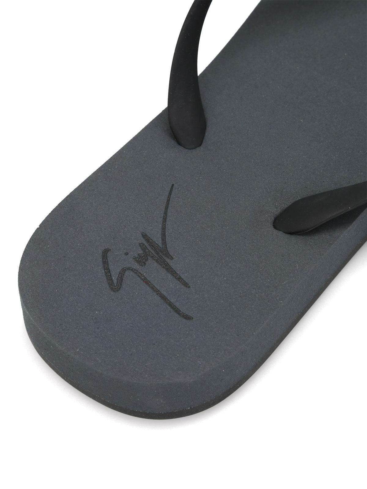 860df9d3d3ad1 Giuseppe Zanotti - Sunset chain detail flip flops - flip flops ...