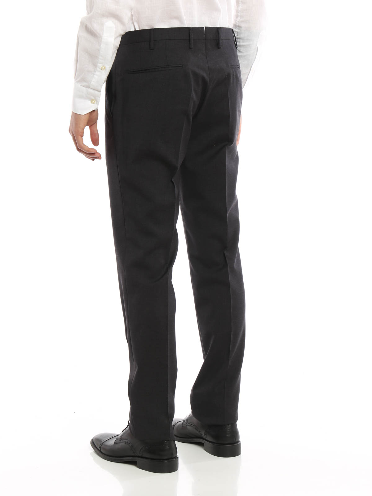1b4a58360dda Incotex - Super 100 s light wool trousers - Tailored   Formal ...