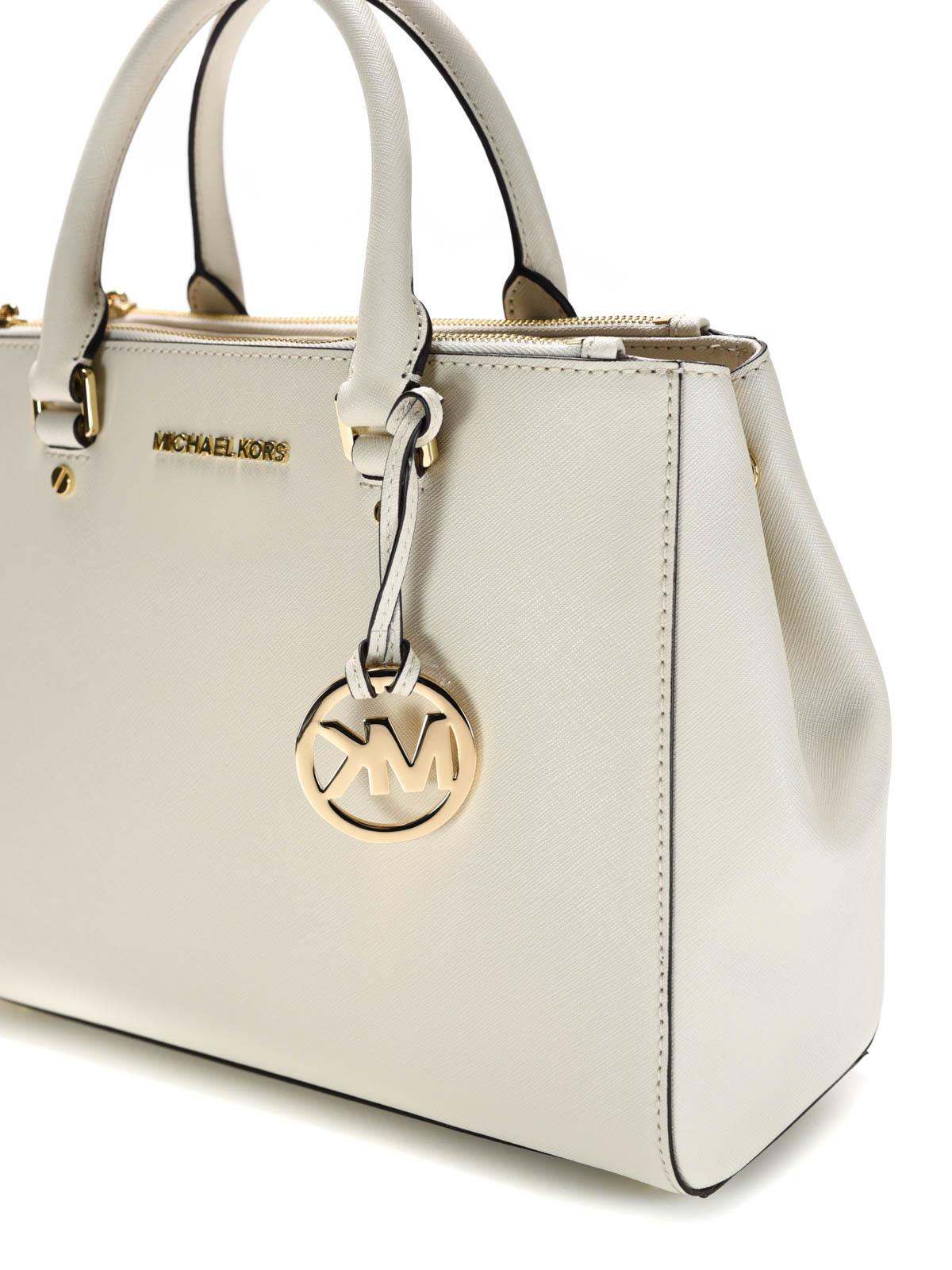 2b3a01e3c385 Michael Kors - Sutton Saffiano leather large tote - totes bags ...