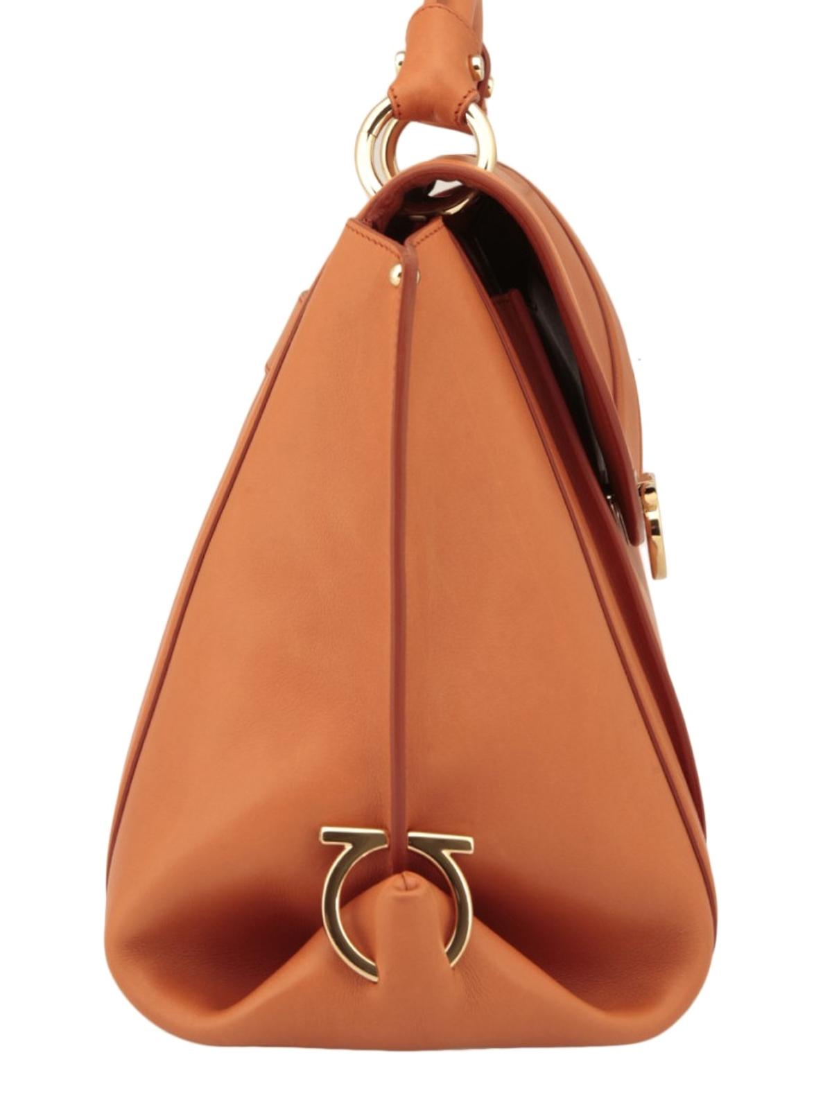 0389697822 Salvatore Ferragamo - Suzanna leather tote - totes bags - 21G395 664065
