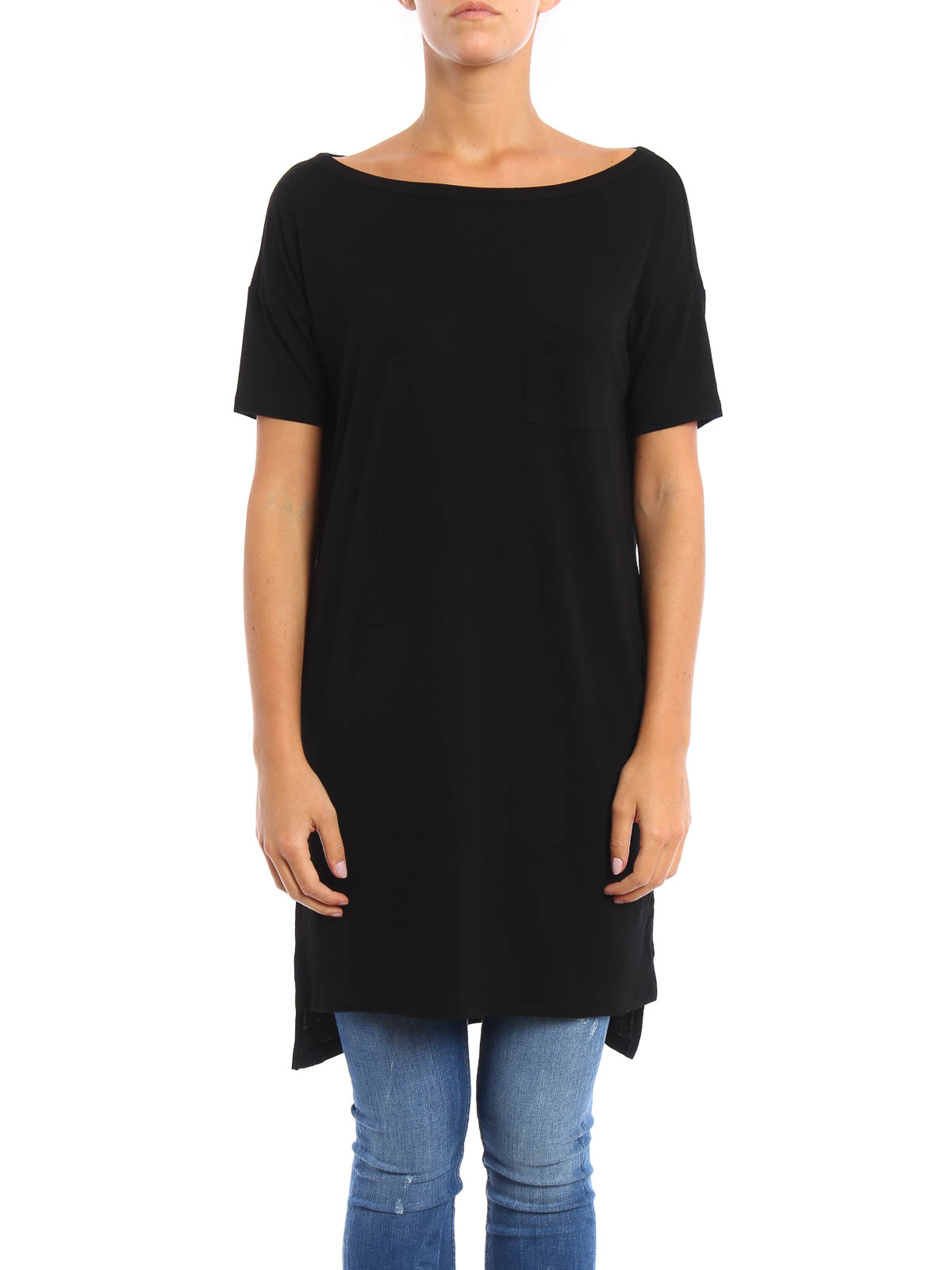 talexander wang - kurzes kleid - schwarz - kurze kleider